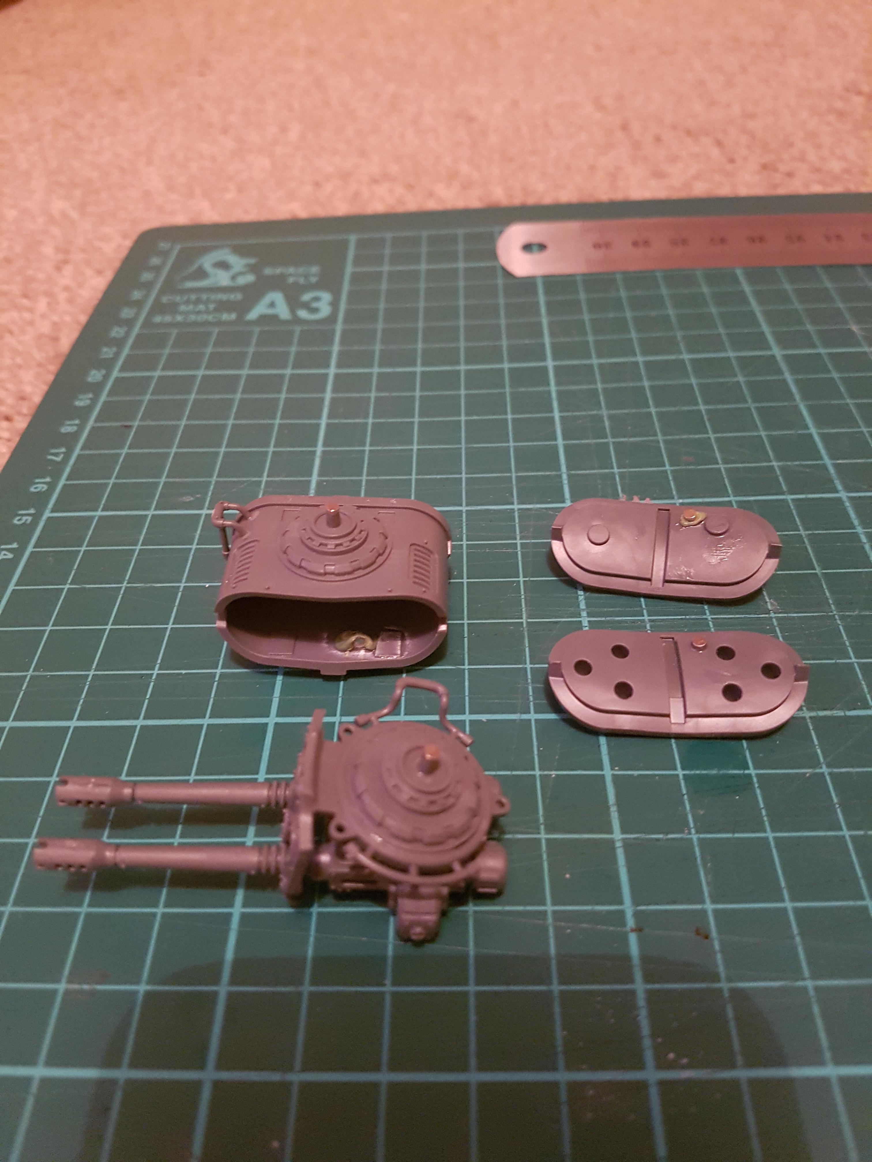 Fibre Optics, Imperial Knight, Magnet, Magnetising