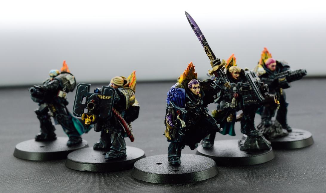 Deathwatch, Female, Killteam, Space Marines