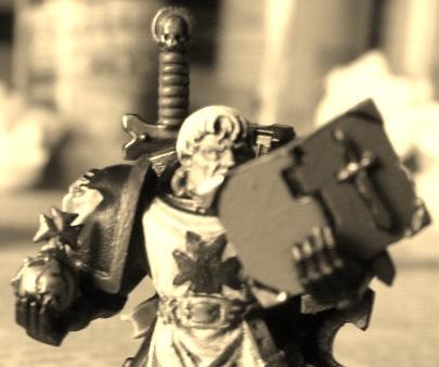 Adeptus Astartes, Black Templars, Brother Maynard, Holy Hand Grenade, Holy Orb Of Antioch, Imperium, Space Marines, Sword Brethren