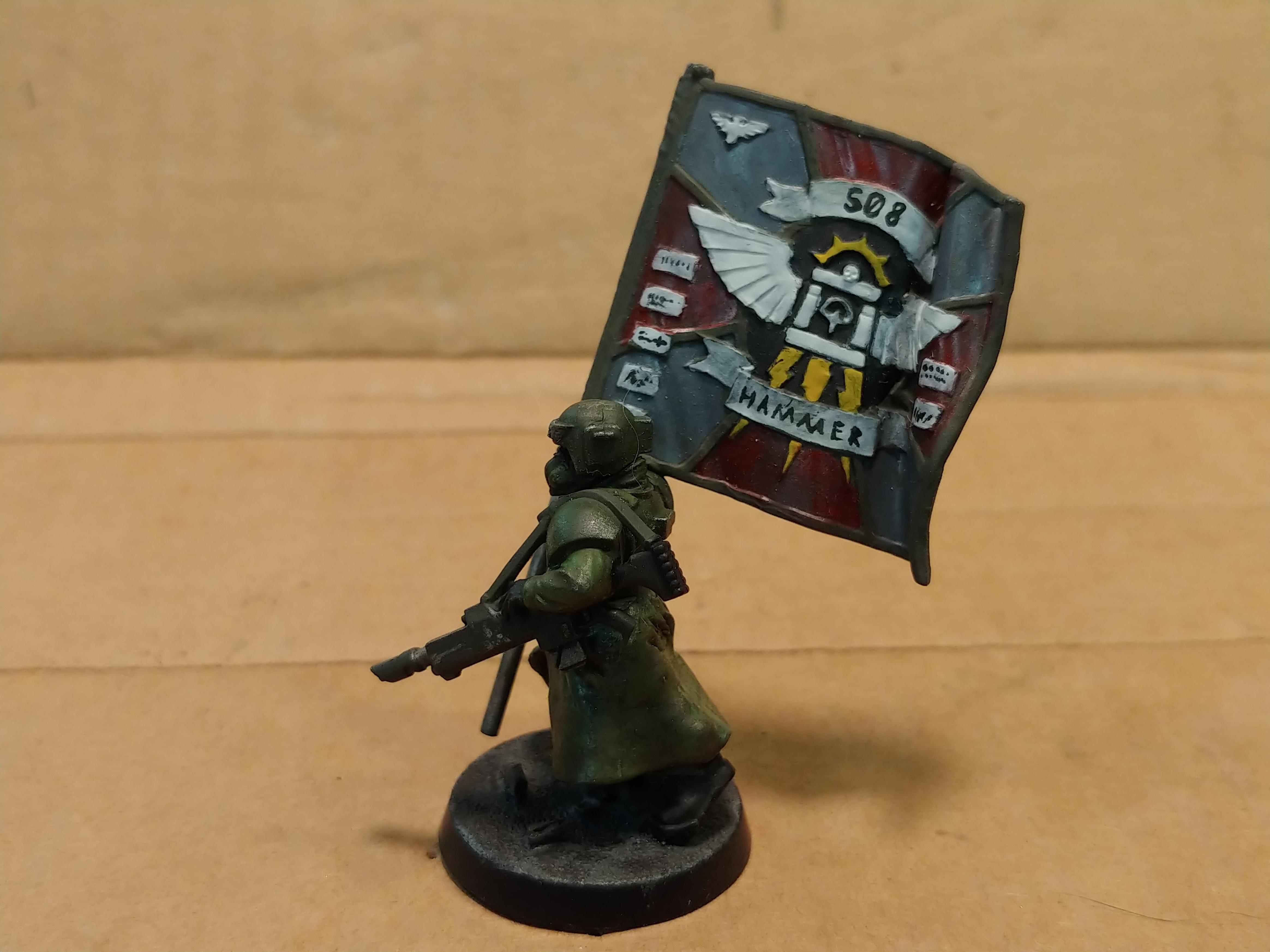 508th, Am, Astra, Banner, Cothonian, Guard, Guardsmen, Imperial, Imperial Guard, Infantry, Militarum, Regimental, Standard