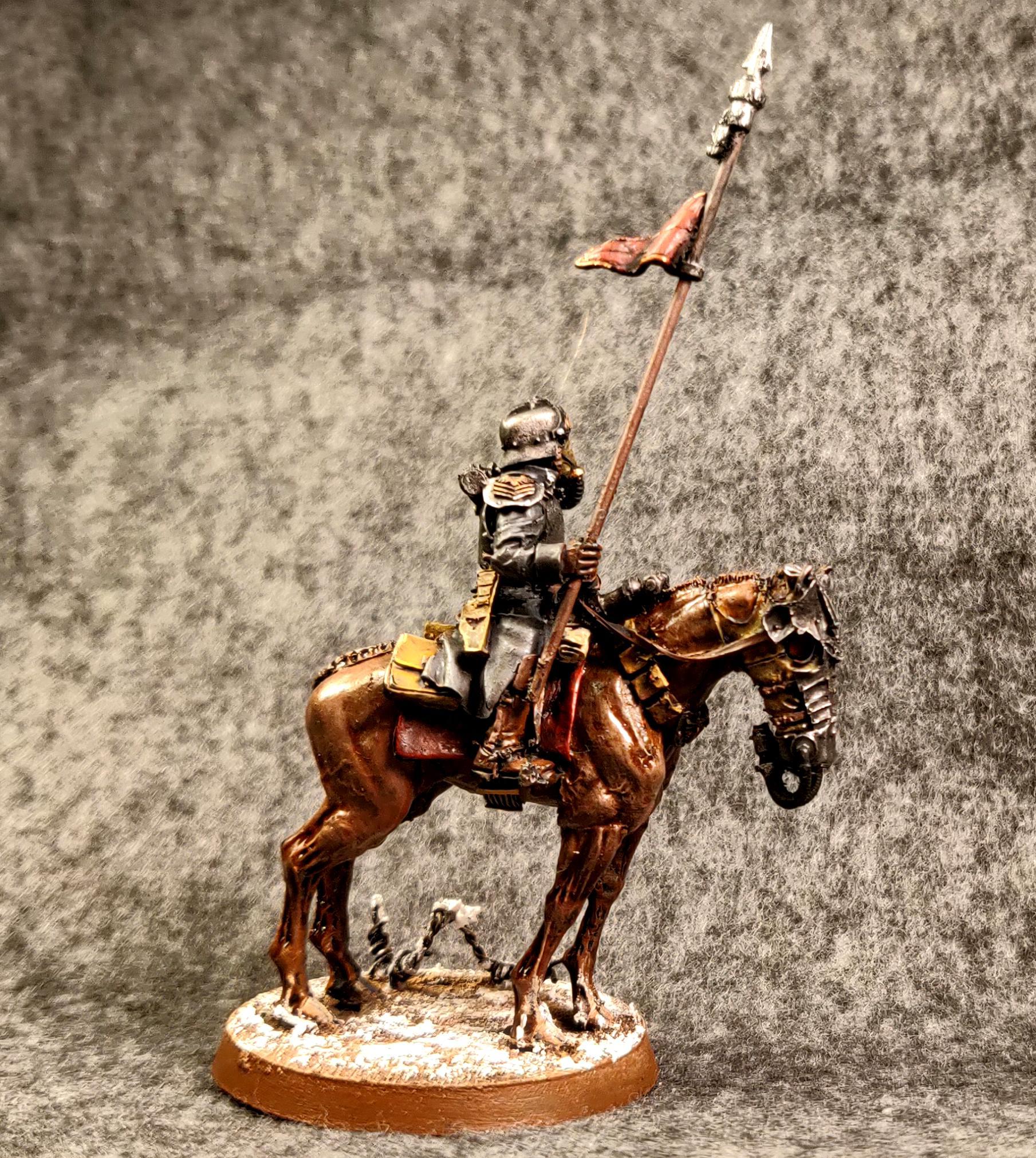 Astra Militarum, Death Korps of Krieg, Death Rider, Warhammer 40,000