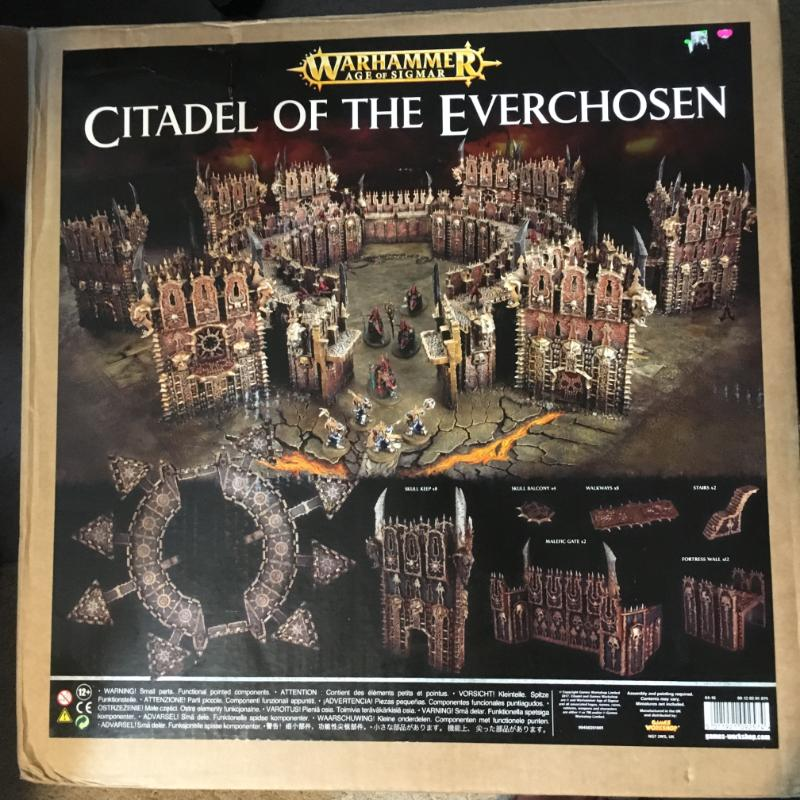 H: Citadel of the Everchosen (NIB) W:$420 - Rogue Trading