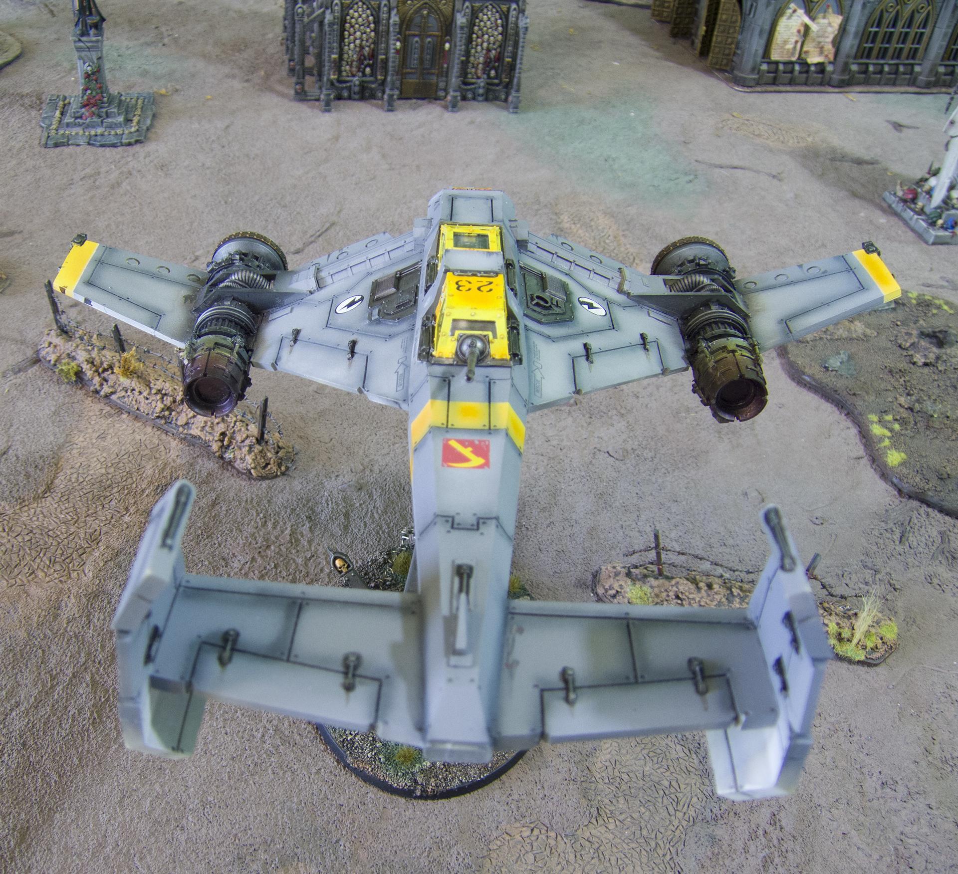 3d Print, 3d Printing, Aircraft, Avenger, Avenger Strike Fighter, Flyer, Forge World, Imperial Navy