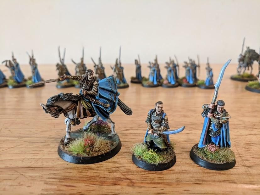 Mounted Elrond, Elrond on Foot, Gil-Galad