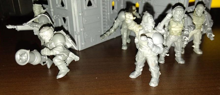 Adeptus Arbites, Imperial Guard