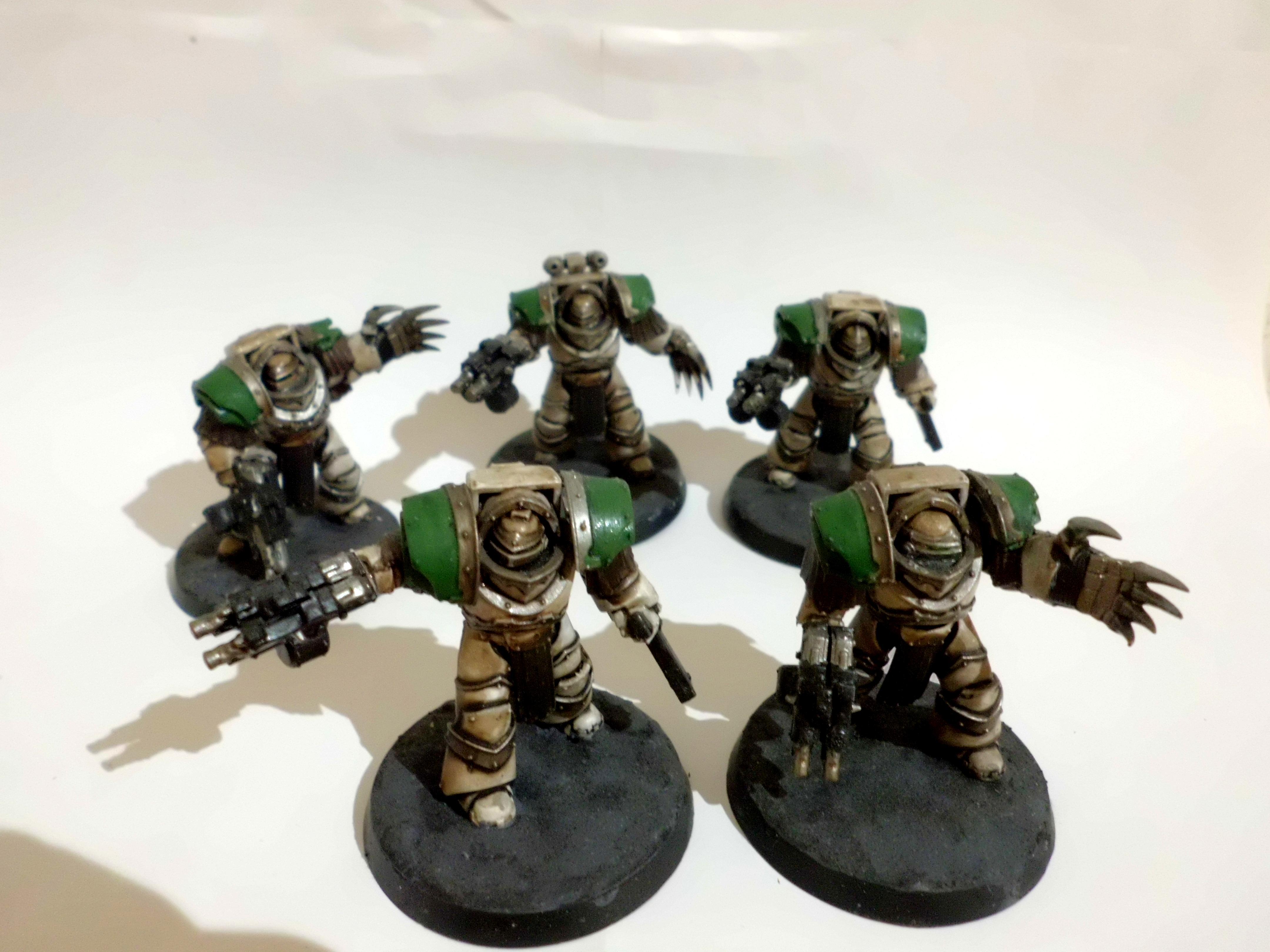 Death Guard Cataphractii Terminators