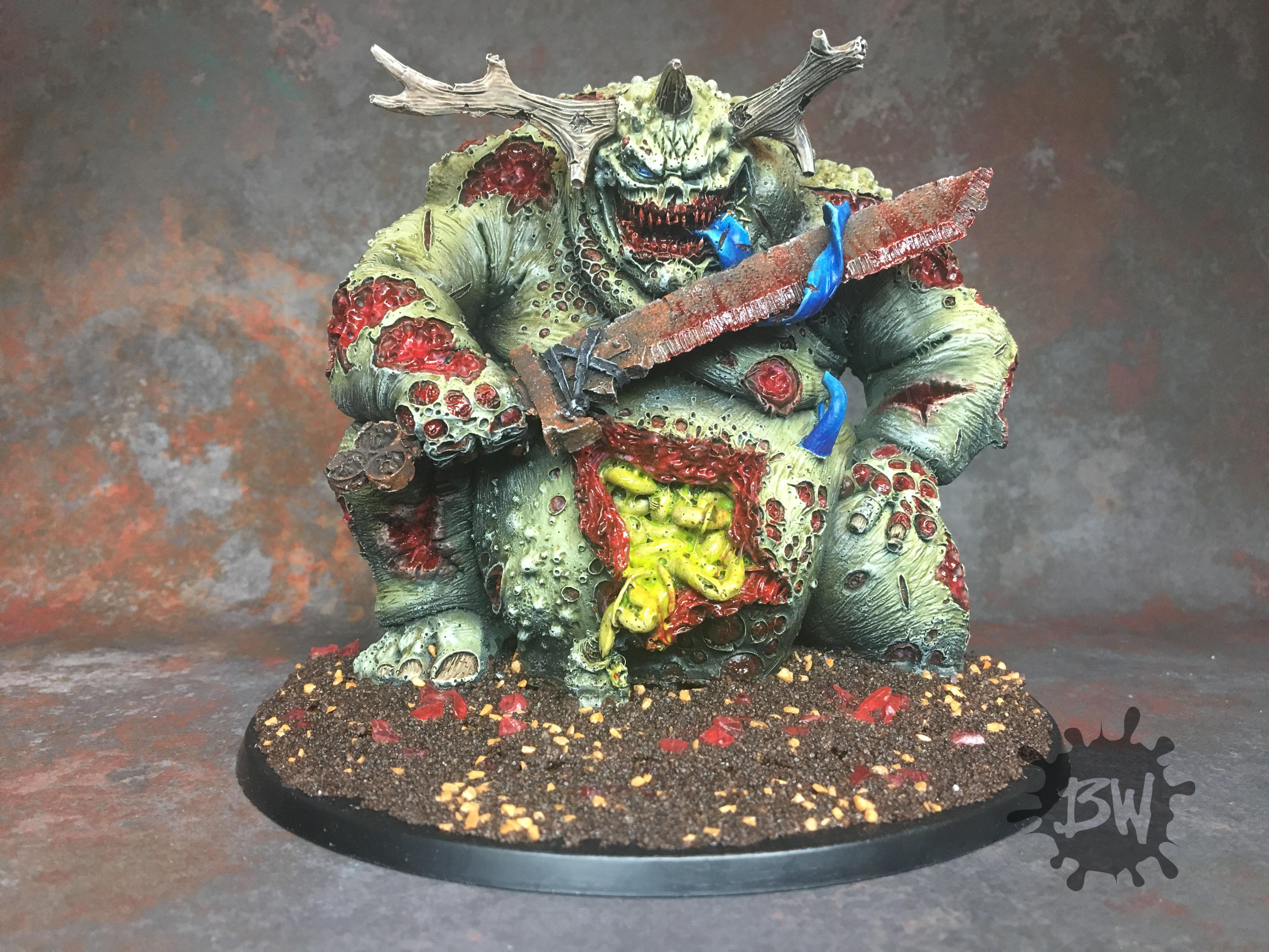 Age Of Sigmar, Aos Chaos, Daemons, Exalted Greater Daemon Of Nurgle, Games Workshop, Guo, Nurgle, Warhammer 40,000