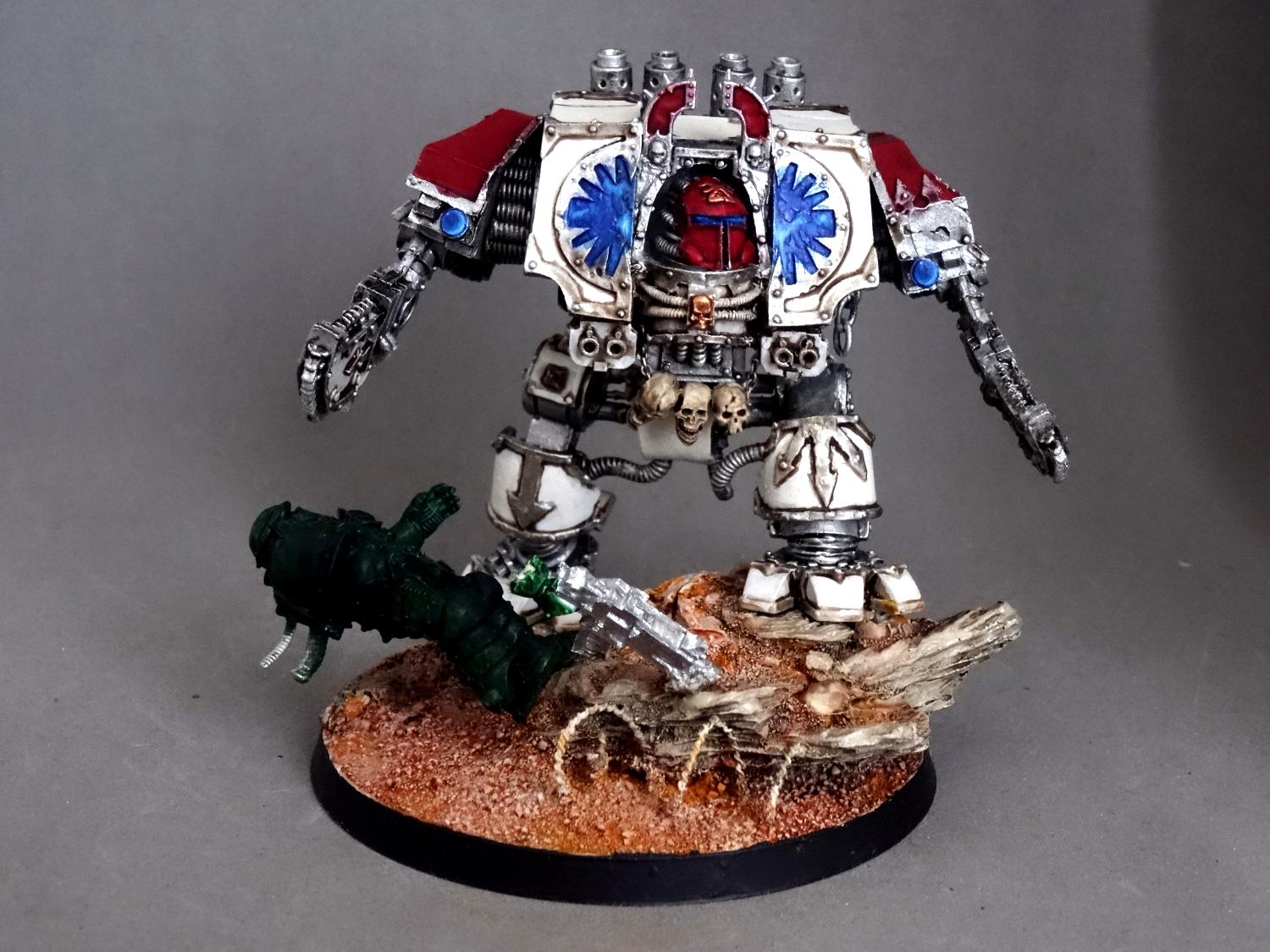 Chaos, Conversion, Dreadnought, Forge World, Khorne, Space Marines, World Eaters