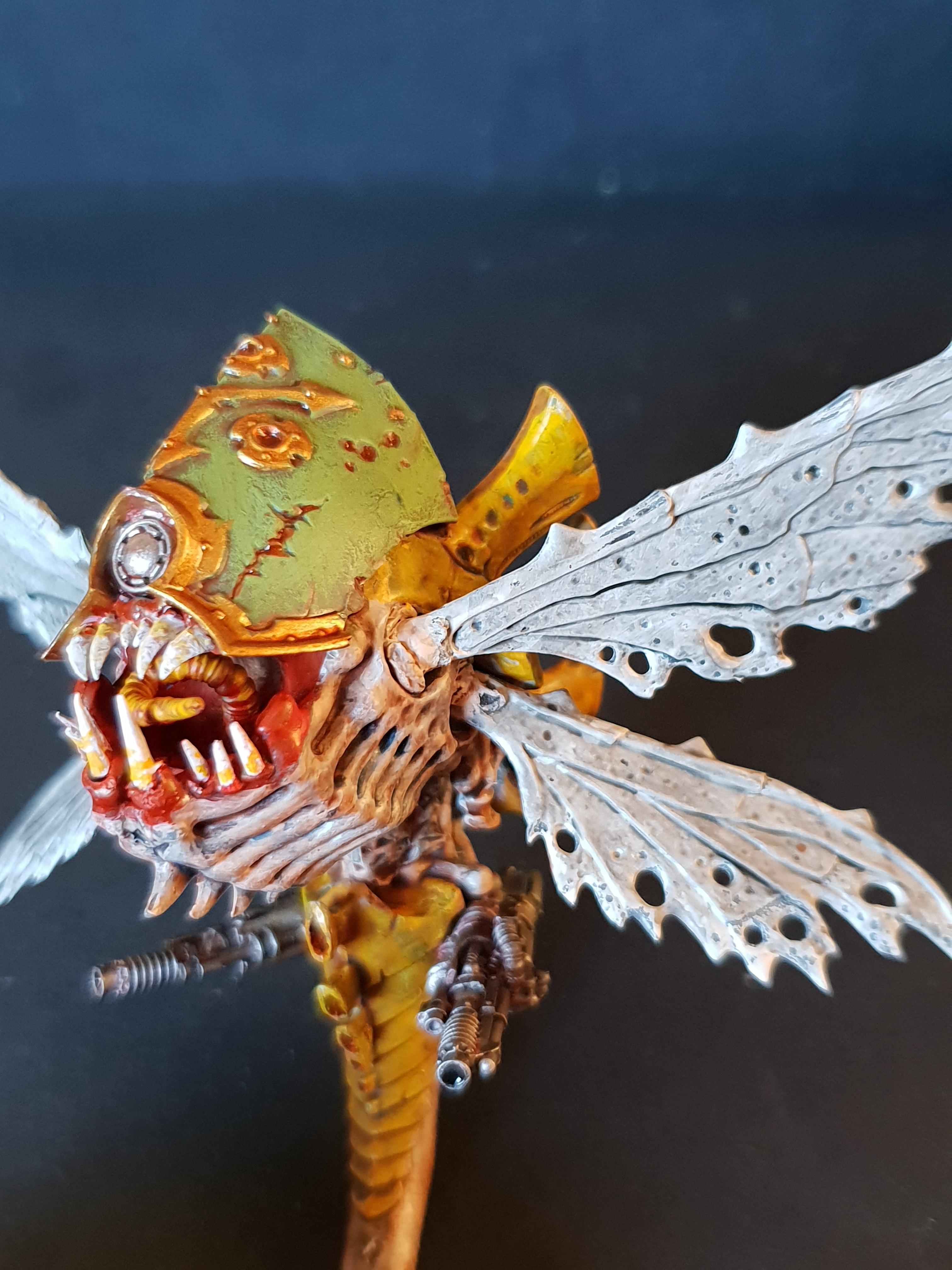 Chaos, Conversion, Drone, Nurgle, Pip, Warhammer 40,000, Work In Progress
