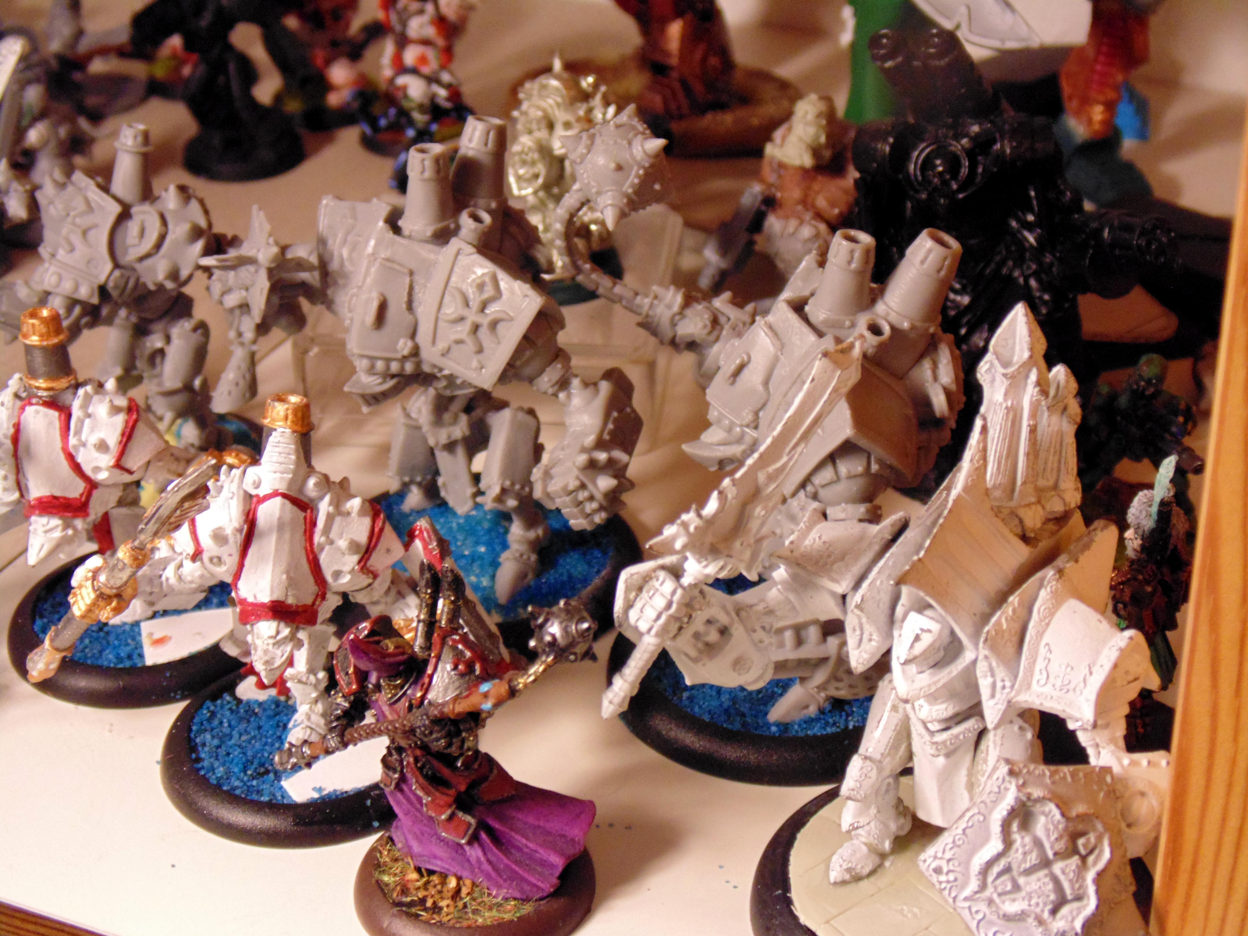 Bize, Bonejack, Caster, Comparison, Conversion, Cryx, Cygnar, Deathjack, Feora, Helljack, Khador, Khorne, Kovnik, Kreoss, Man-o-war, Manowar, Monster, Protectorate Of Menoth, Protectoriat, Scratch Build, Size, Sorscha, Warajck, Warcaster, Warjack, Warmachine, Wreck