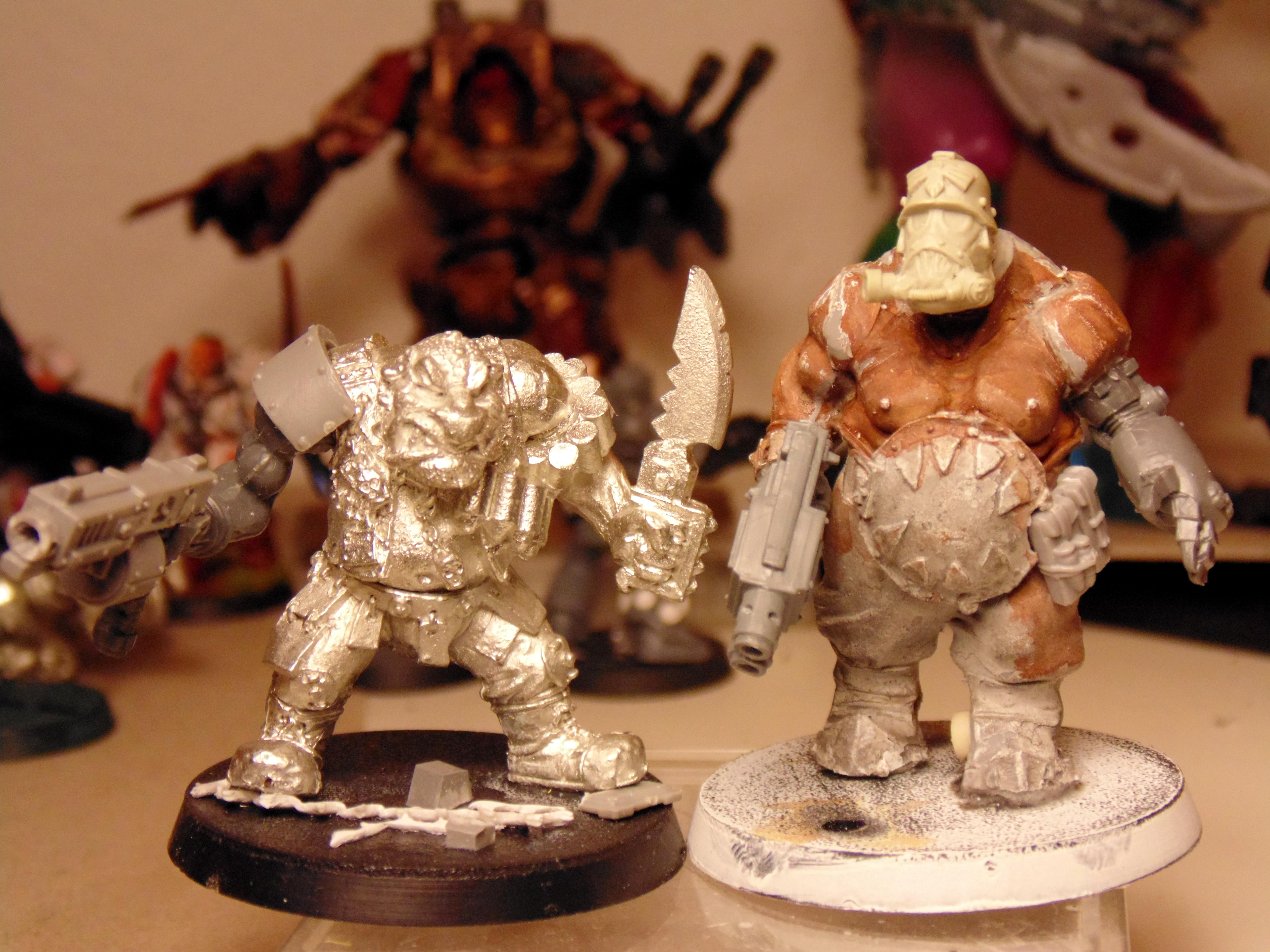 Conversion, Imperial, Ogres, Ogryns