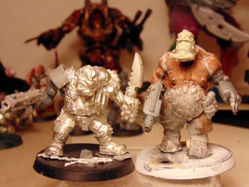 Conversion, Imperial, Ogres, Ogryns