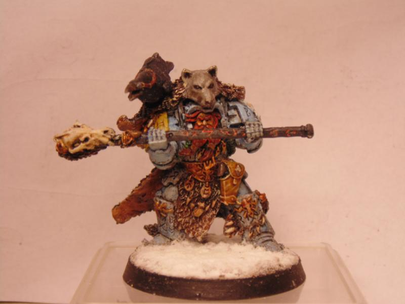 Character, Librarian, Snow, Space, Space Marines