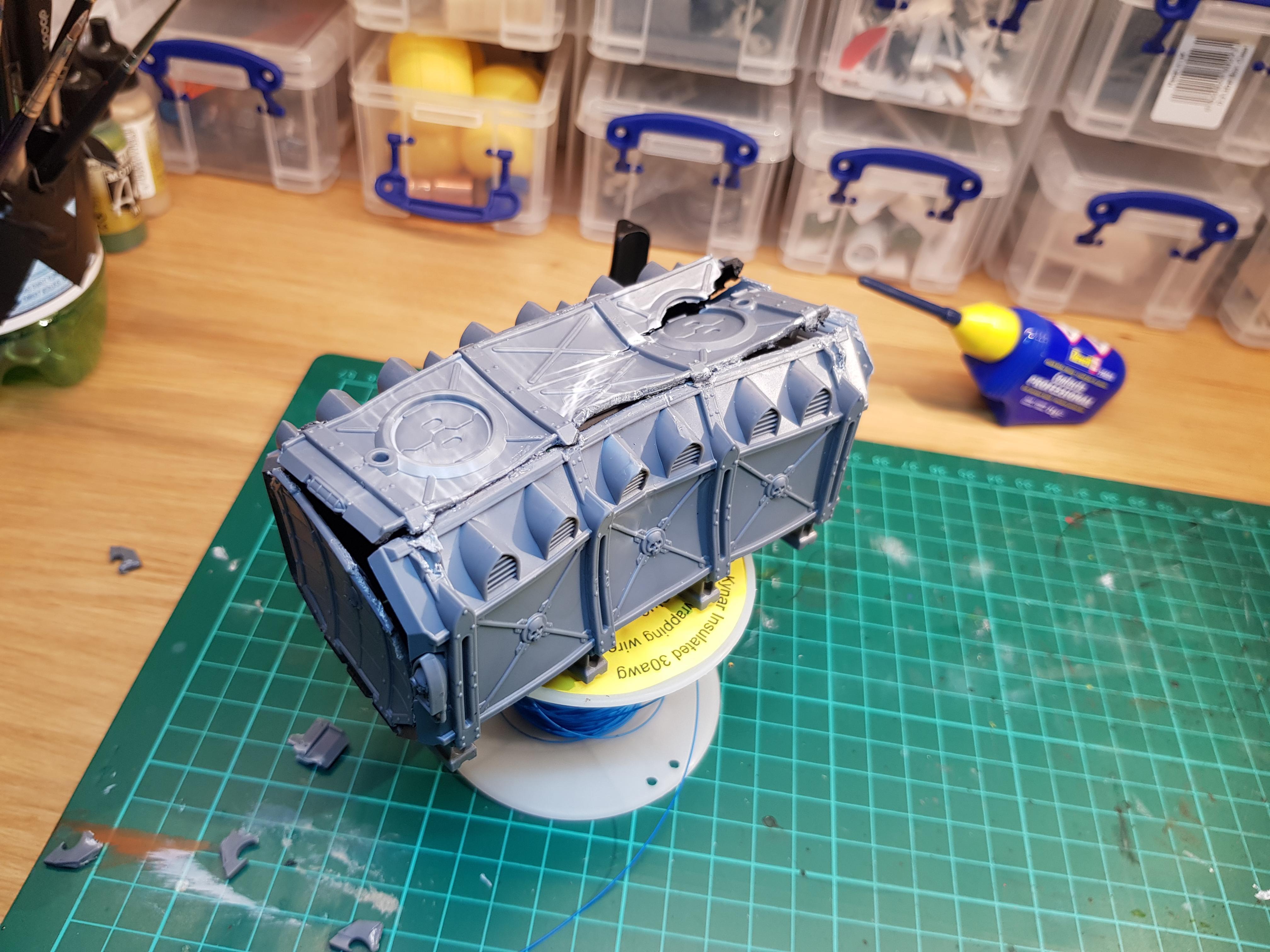 Container, Conversion
