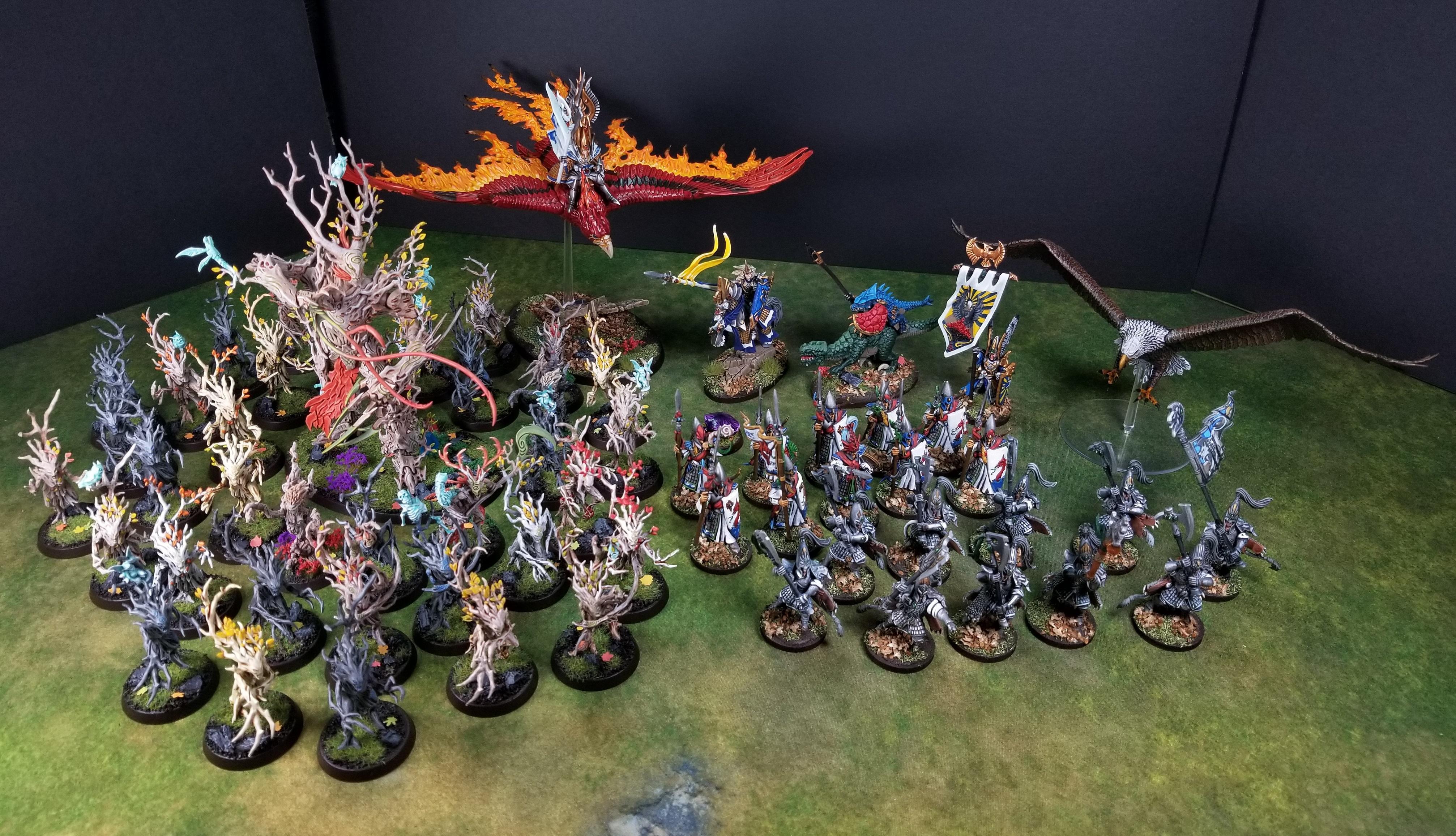 Age Of Sigmar, Elves, High Elves, Order, Sylvaneth, Warhammer Fantasy