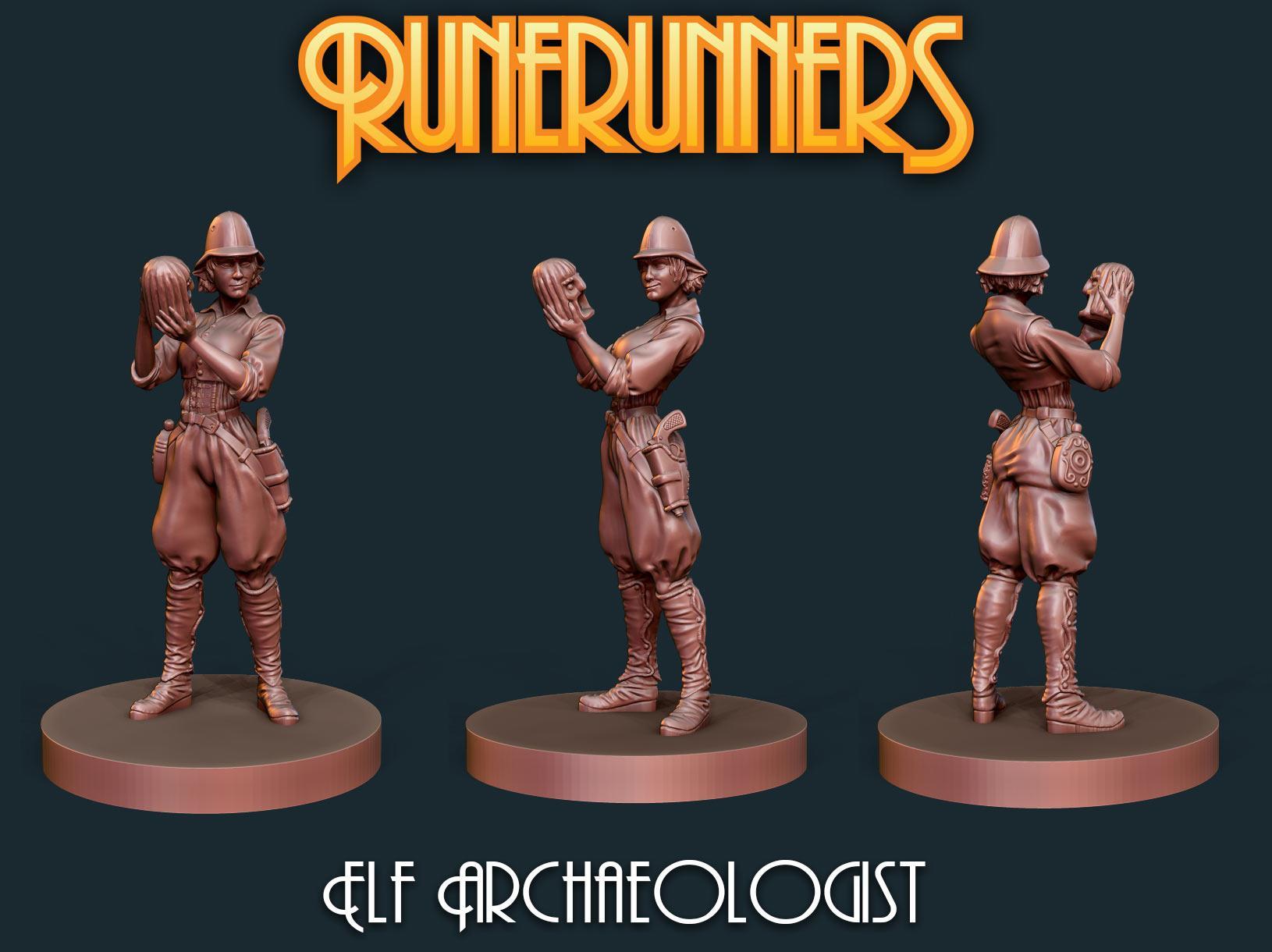 Runerunners Elf Archaeologist