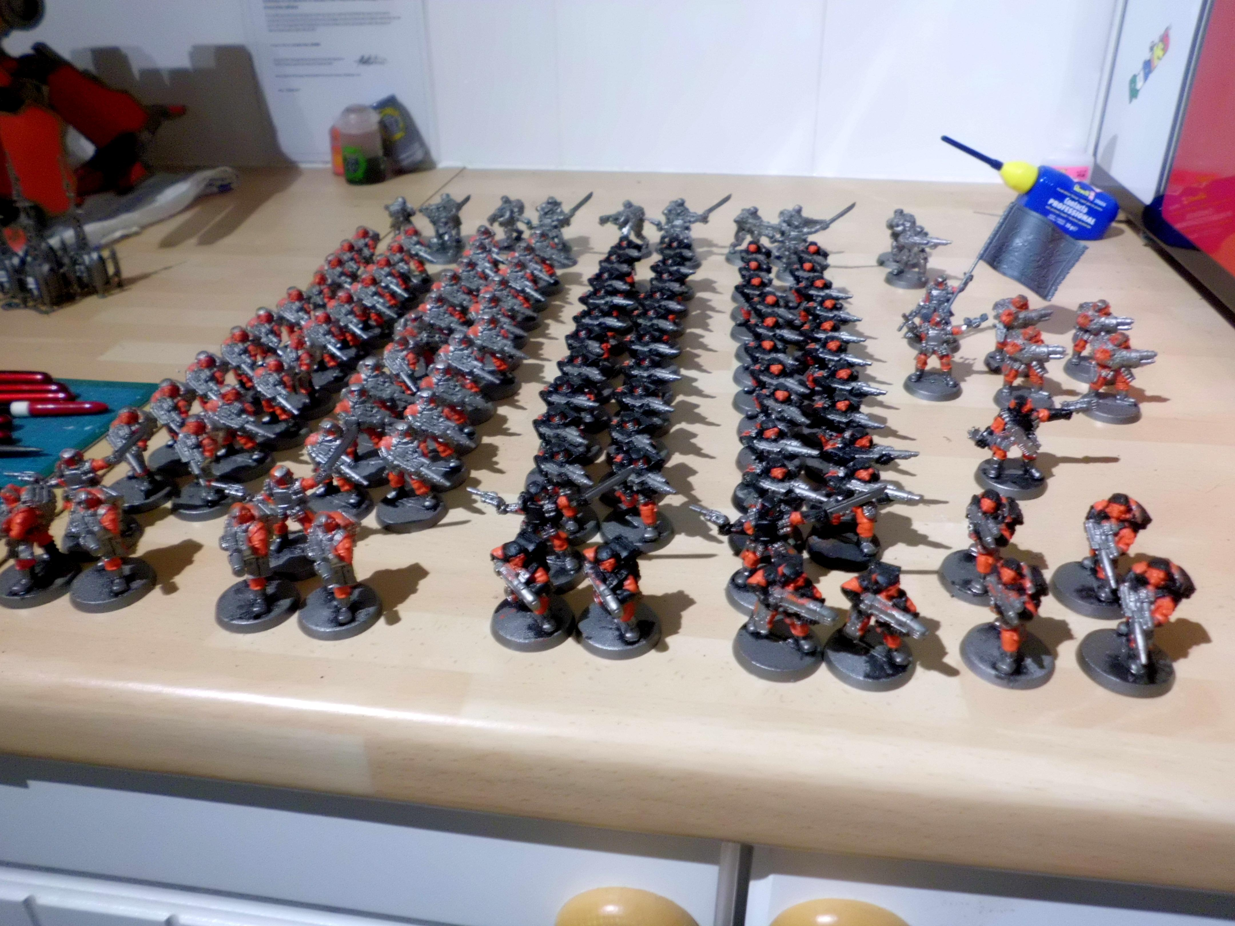 30k, Cults & Militia, Grenadiers, Horus Heresy, Storm Troopers, Tech Thrall, Tech-thralls
