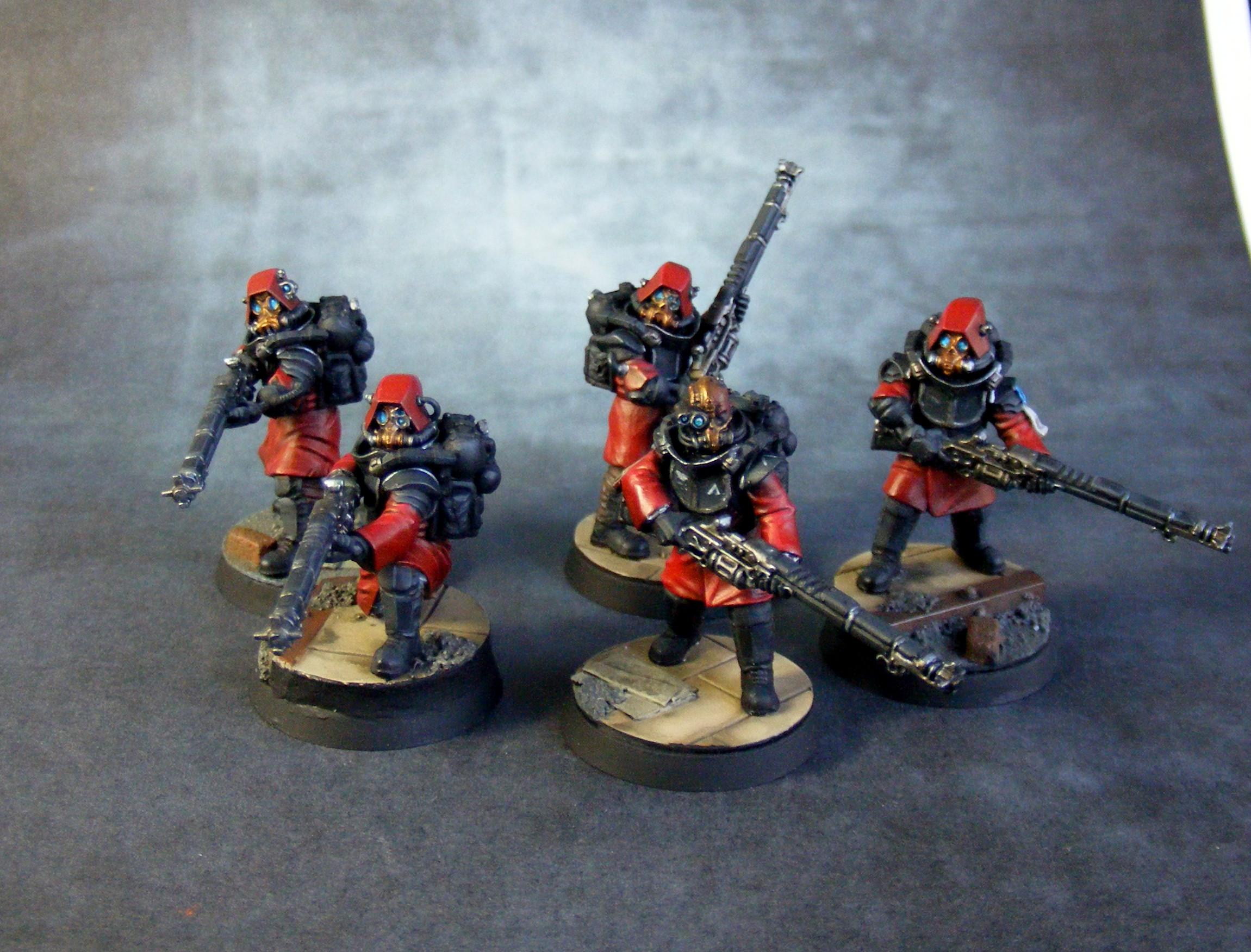 Adeptus Mechanicus, Anvil Industries, Conversion, Skitarii, Warhammer 40,000
