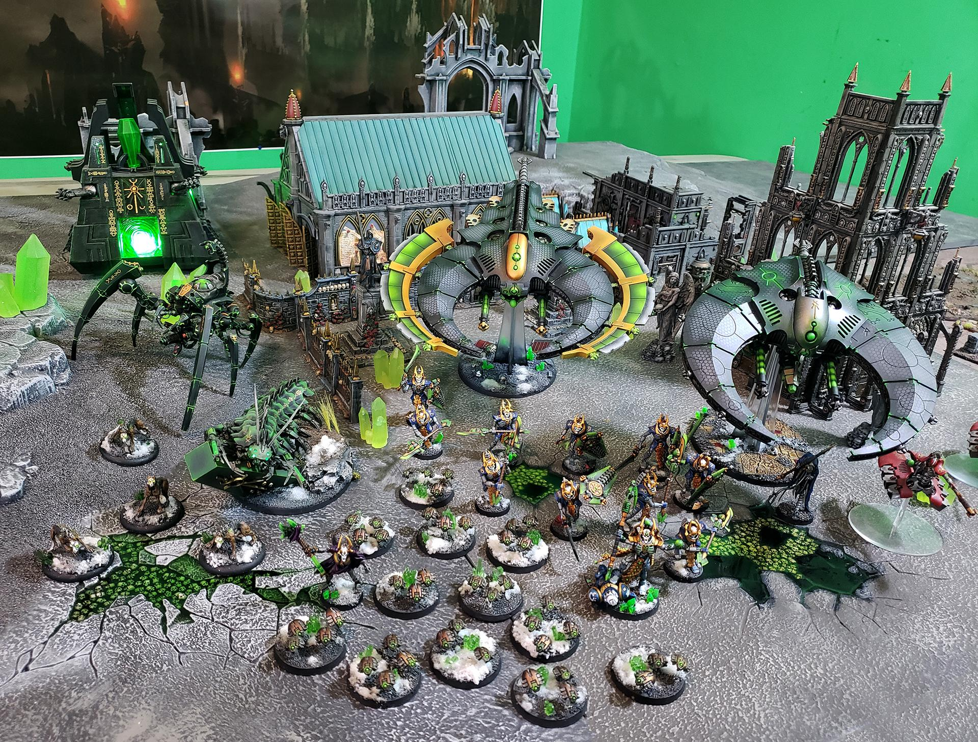 3d Print, 3d Printing, Conversion, Doom Scythe, Flyer, Necrons, Night Scythe