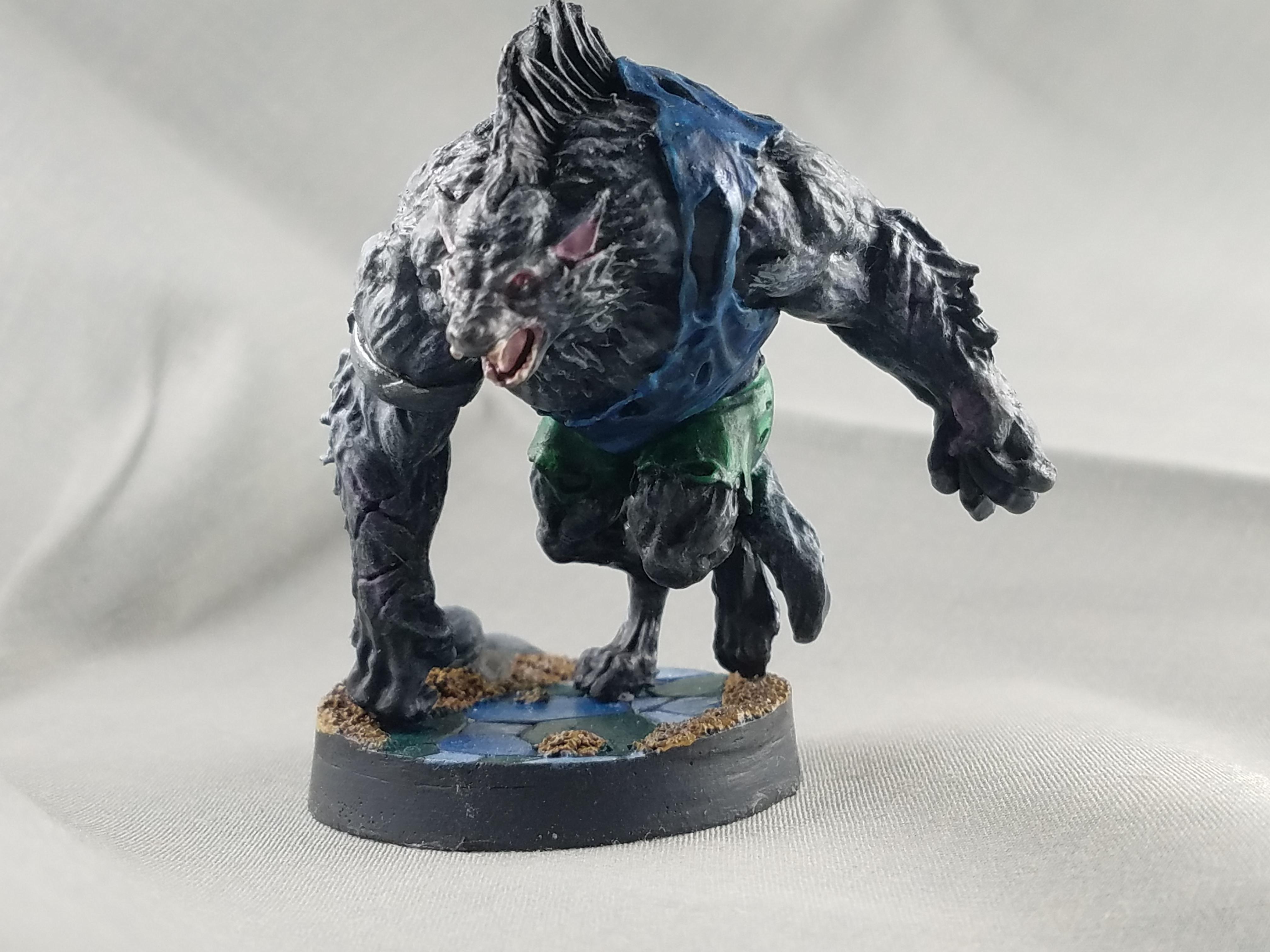Dakka Painting Challenge 2018, Grimlord Games, Village Attacks, Werewolf