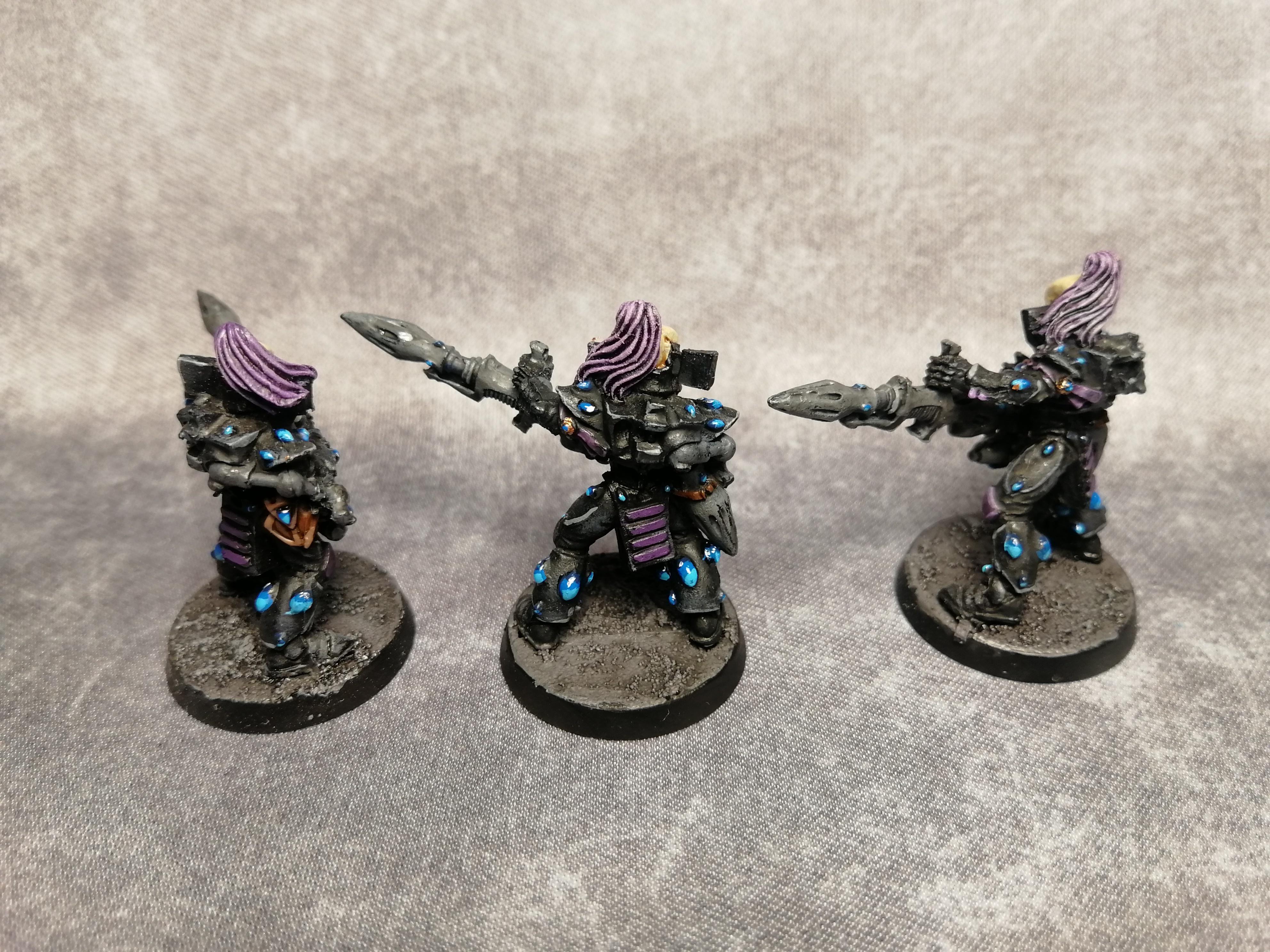Aeldari, Black, Dark, Dark Reapers, Eldar, Missile, Purple, Space Elf, Ulthwe