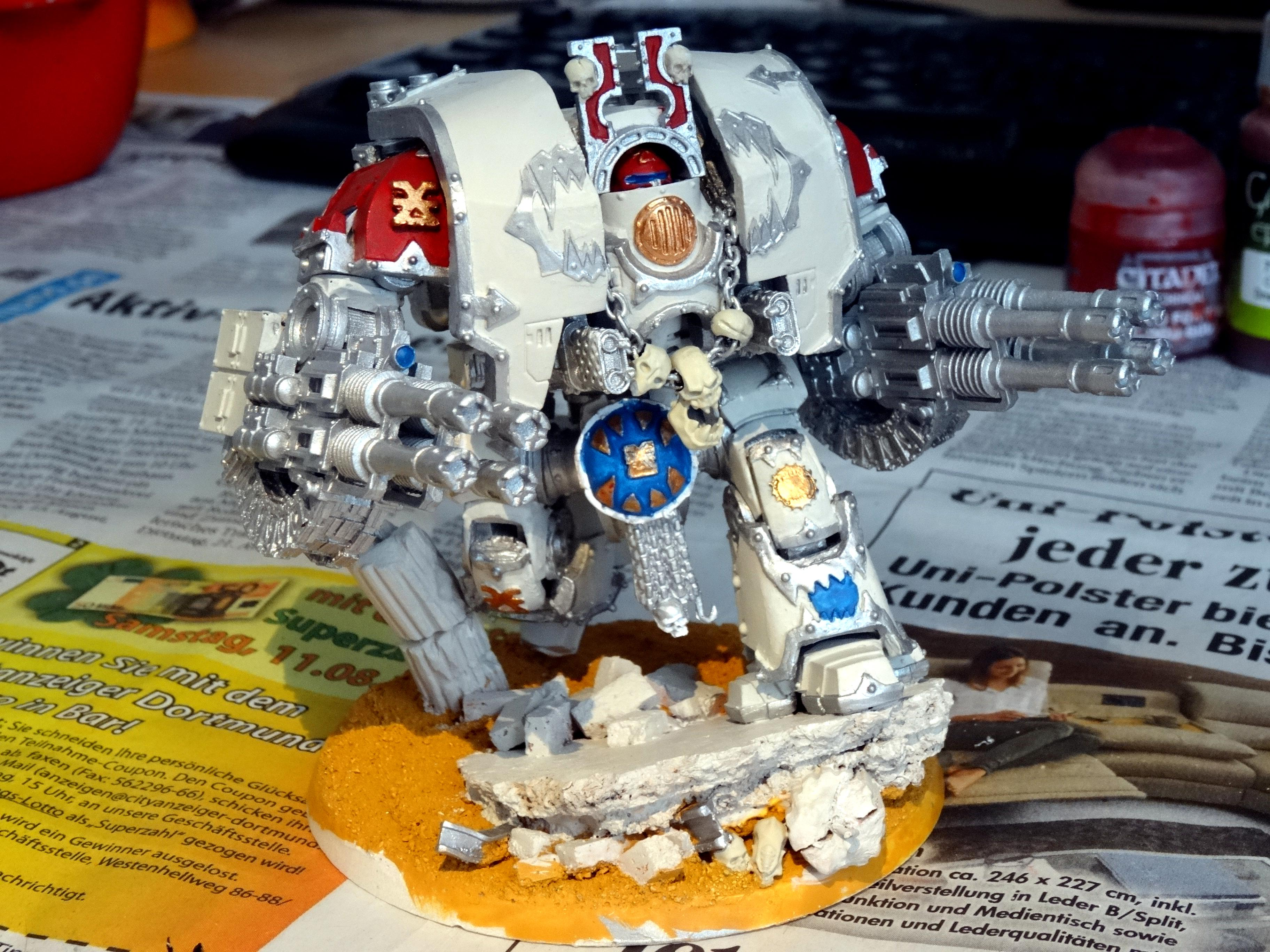 Chaos, Chaos Space Marines, Conversion, Forge World, Khorne, Leviathan, World Eaters