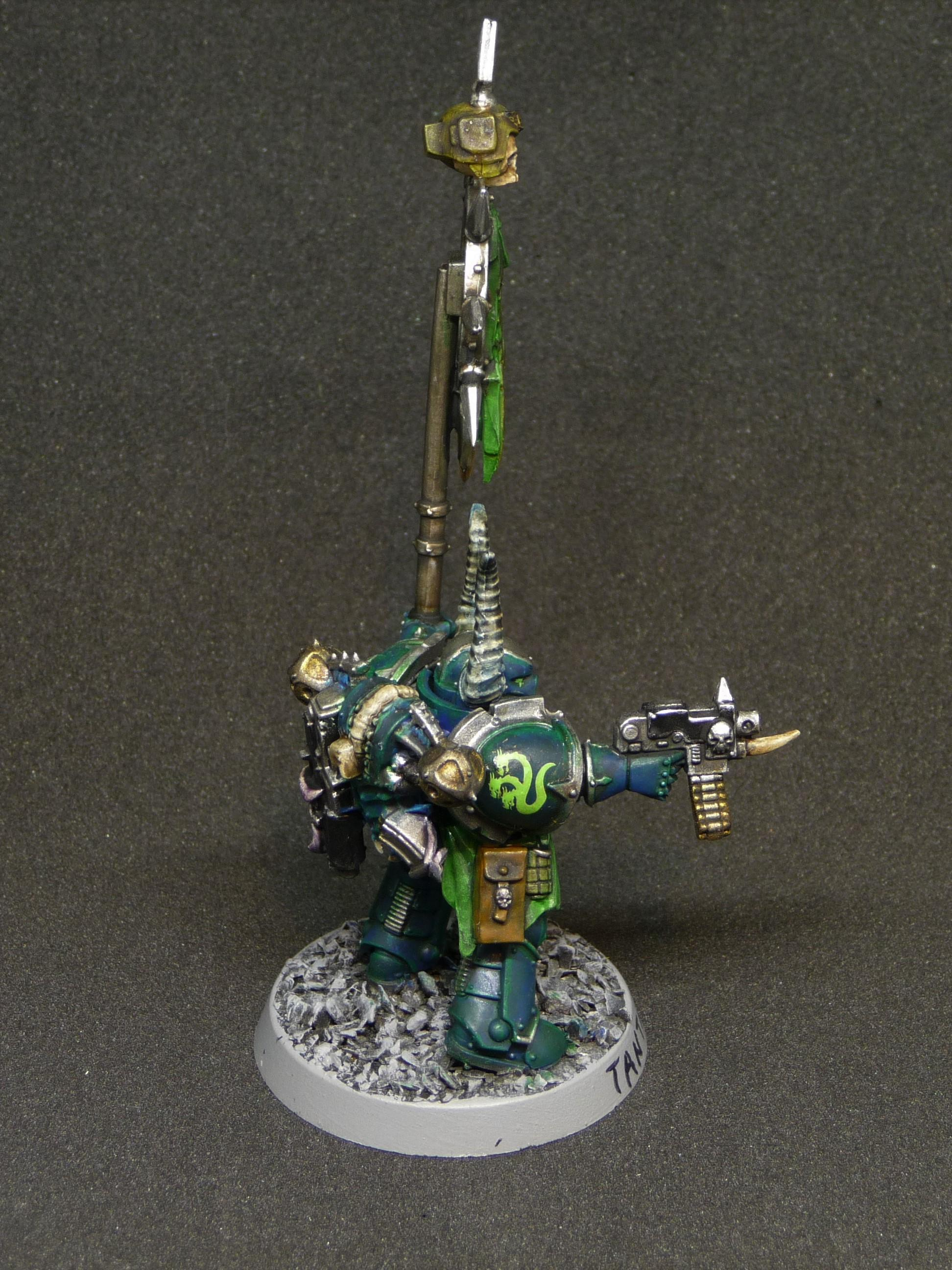 Alpha Legion, Chaos Space Marines, Heretic Astartes, Icon Of Vengeance