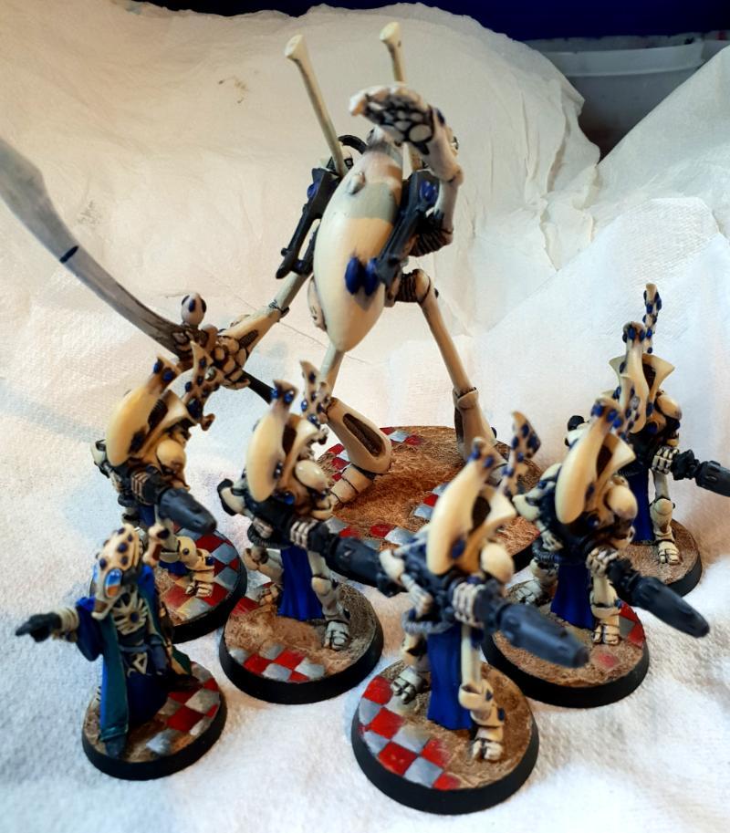 Eldar, Spirithost, Wraithguard, Wraithlord, Ynn-bydos