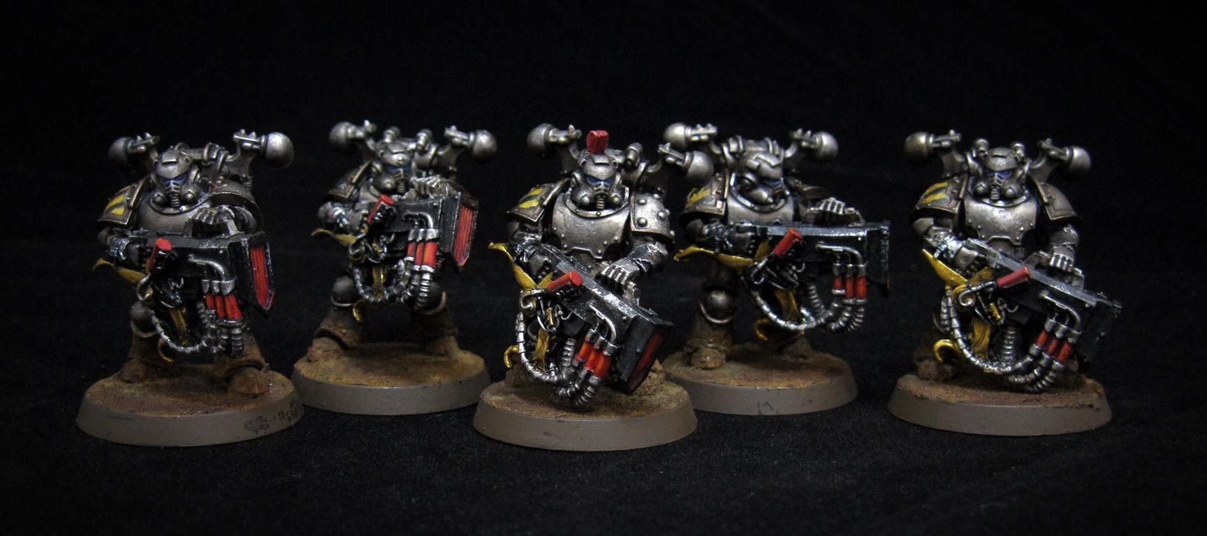 Conversion, Horus Heresy, Iron Warriors, Kakophoni, Noise Marines, Pre-heresy