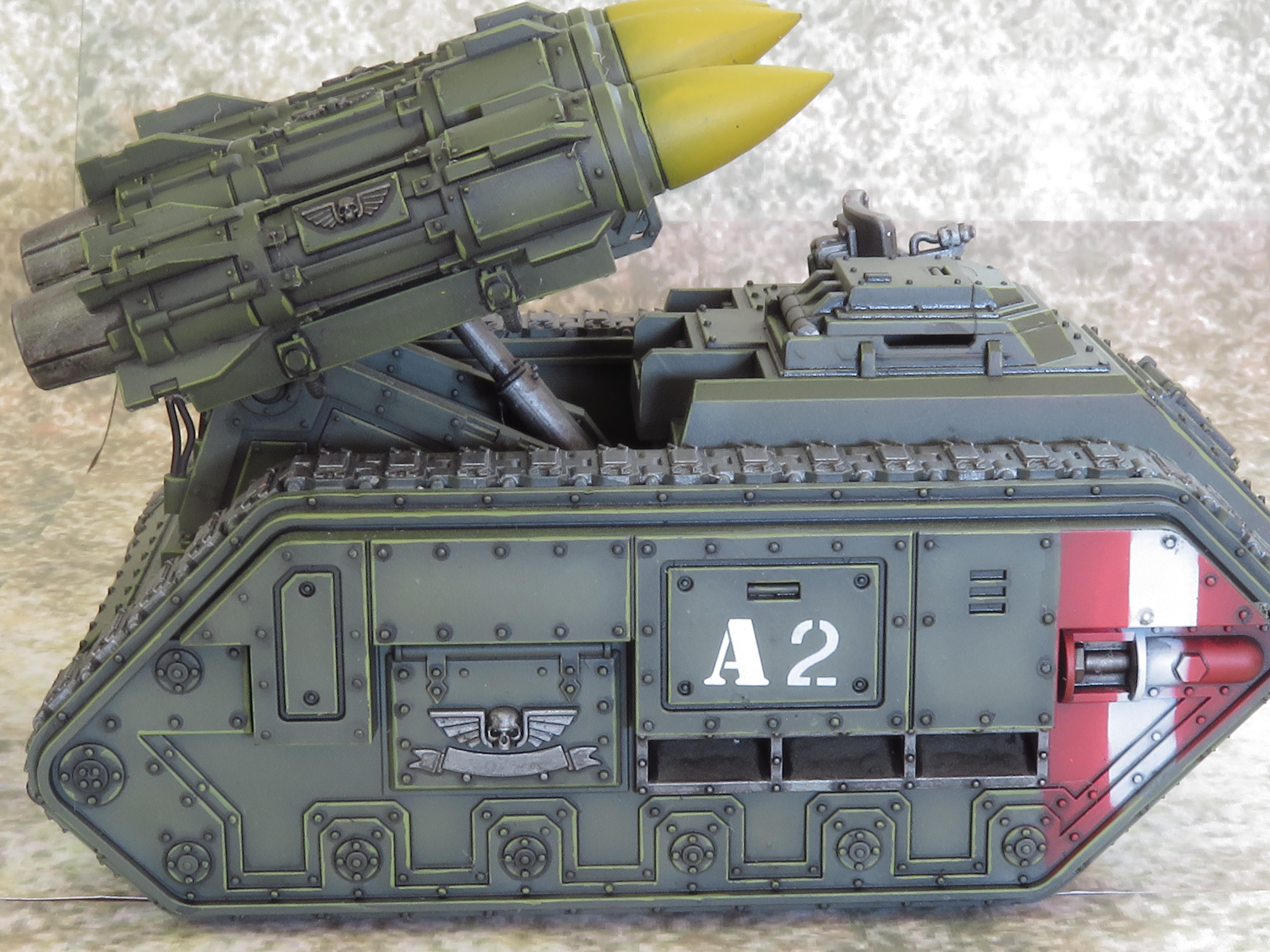 Imperial Guard, Leman Russ, Manticore, Tank