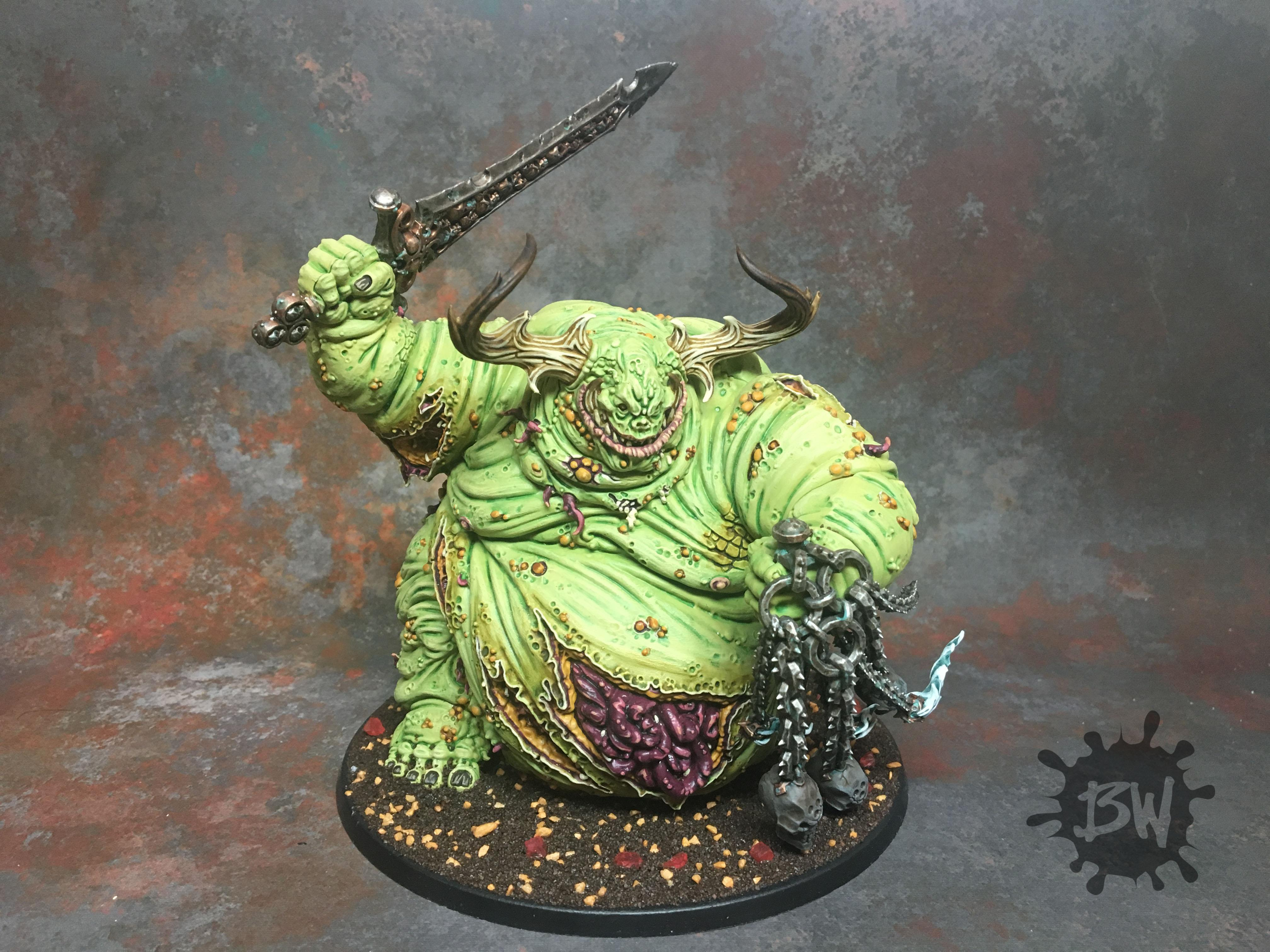 Chaos, Commission, Death Gard, Great Unclean One, Guo, Nurgle, Reat Unclean One, Warhammer 40,000