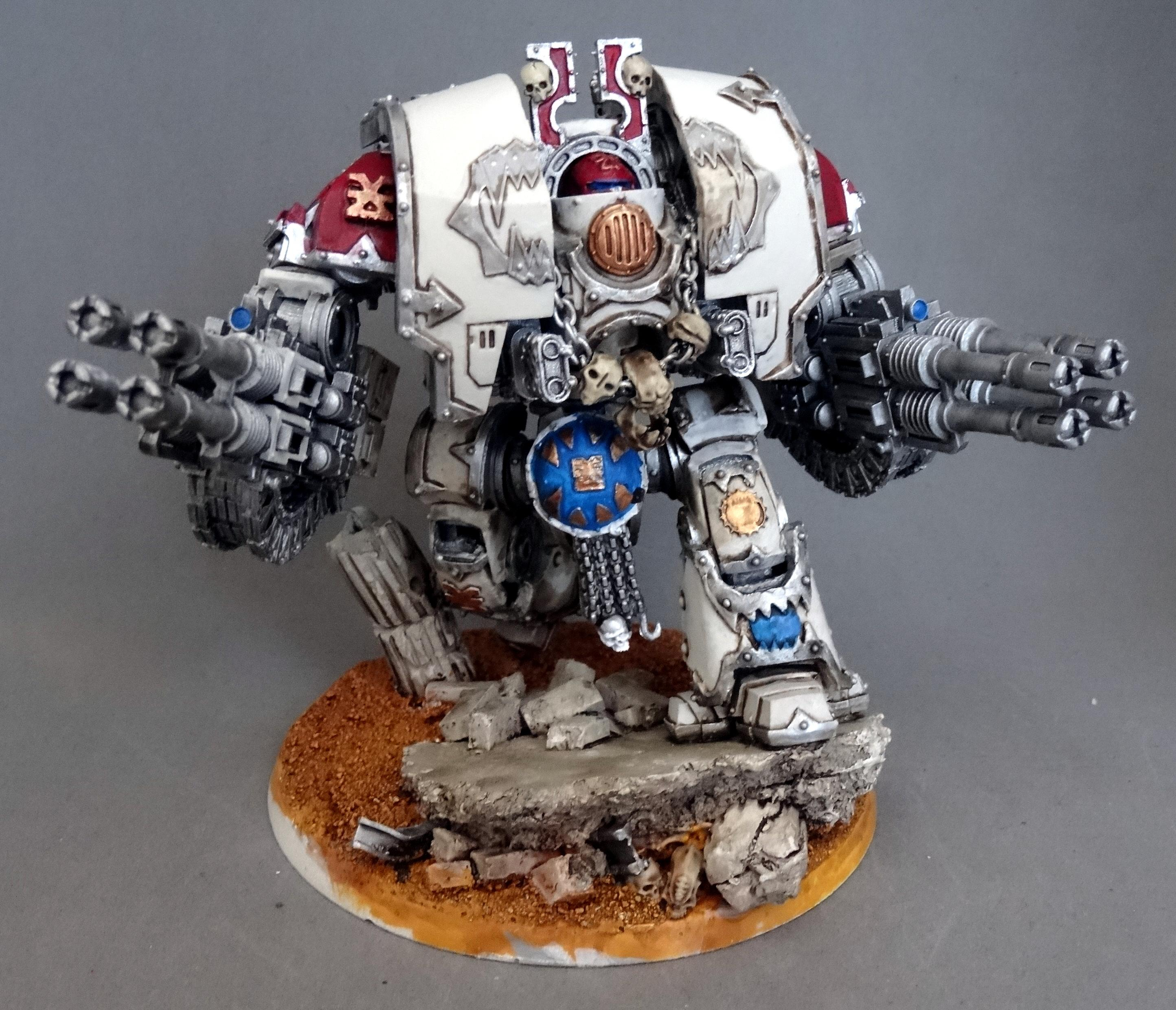 Chaos, Conversion, Dreadnought, Forge World, Khorne, Leviathan, Space Marines, World Eaters