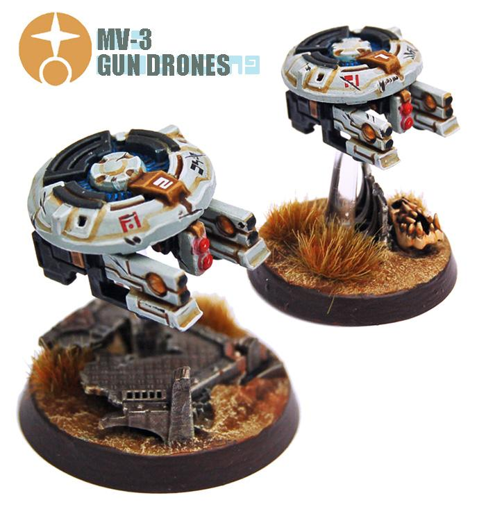Conversion, Drone, Drones, Gun Drone, Tau, Tau Empire
