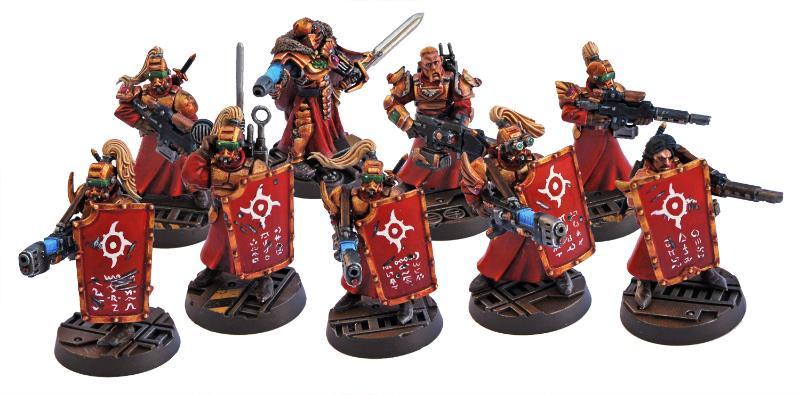 30k, Conversion, Horus Heresy, Kill Team, Pre-heresy, Prospero, Prospero Spire Guard, Tempestus Scions, Thousand Sons, Warhammer 40,000