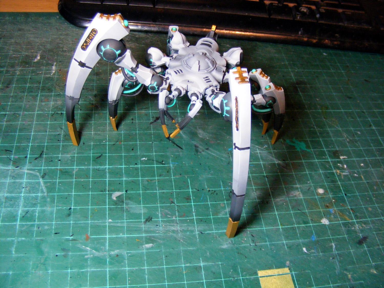Triarch Stalker legs assembled