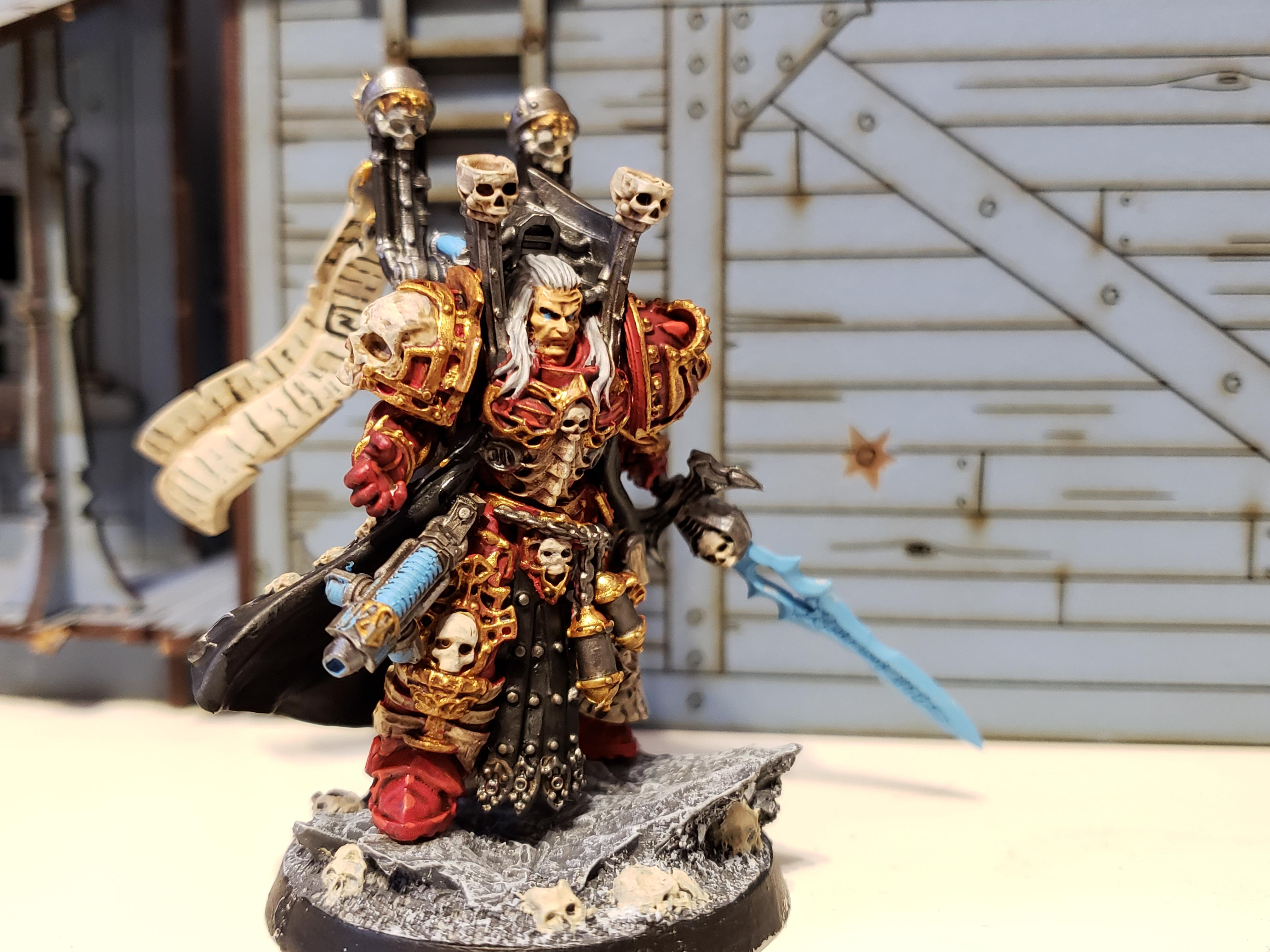 Blood Angels, Grimskull, Imperial Death Lord, Librarian, Mephiston, Wargame Exclusive
