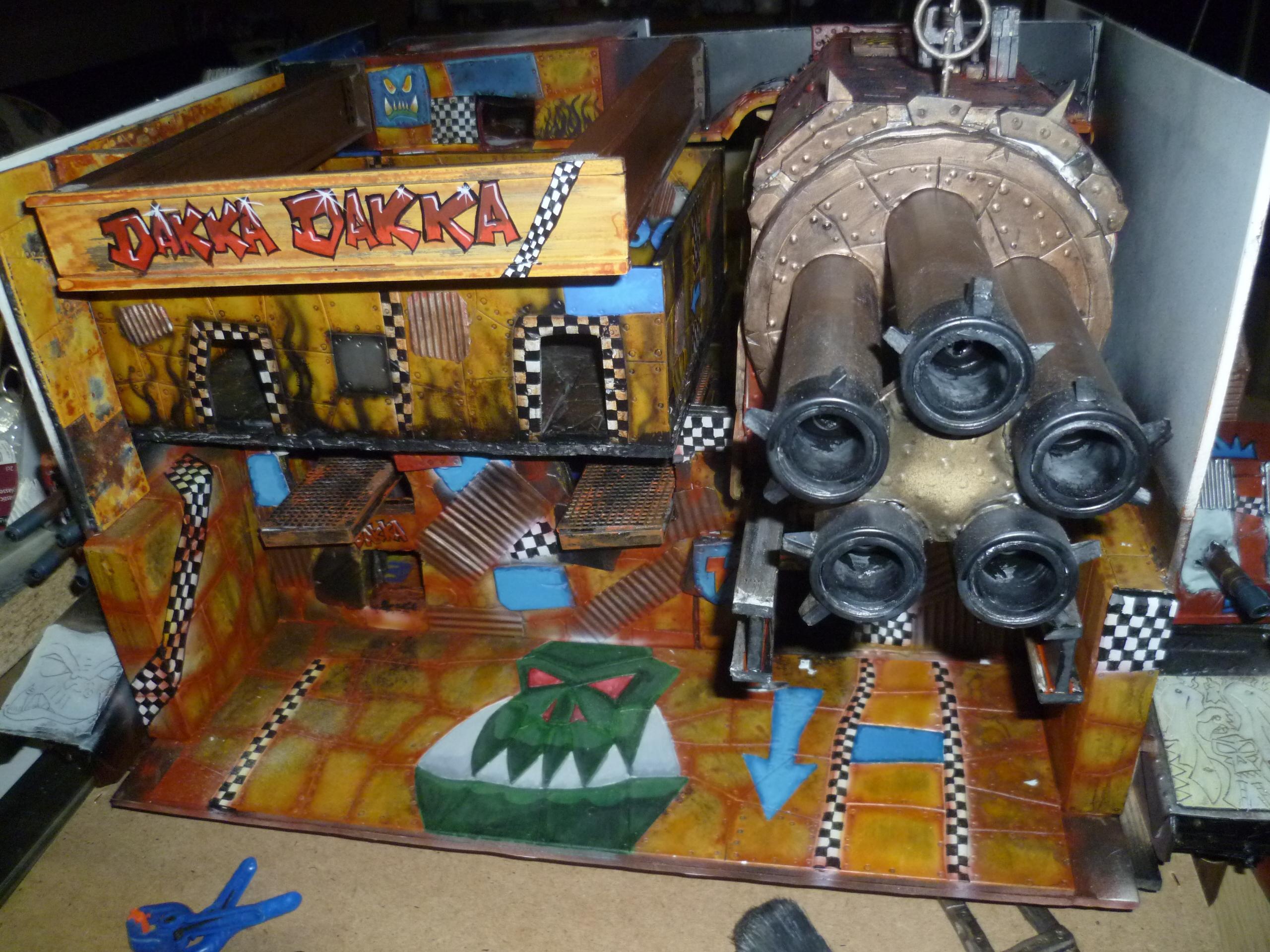 Dakka Dakka, Orks, Shop, Terrain