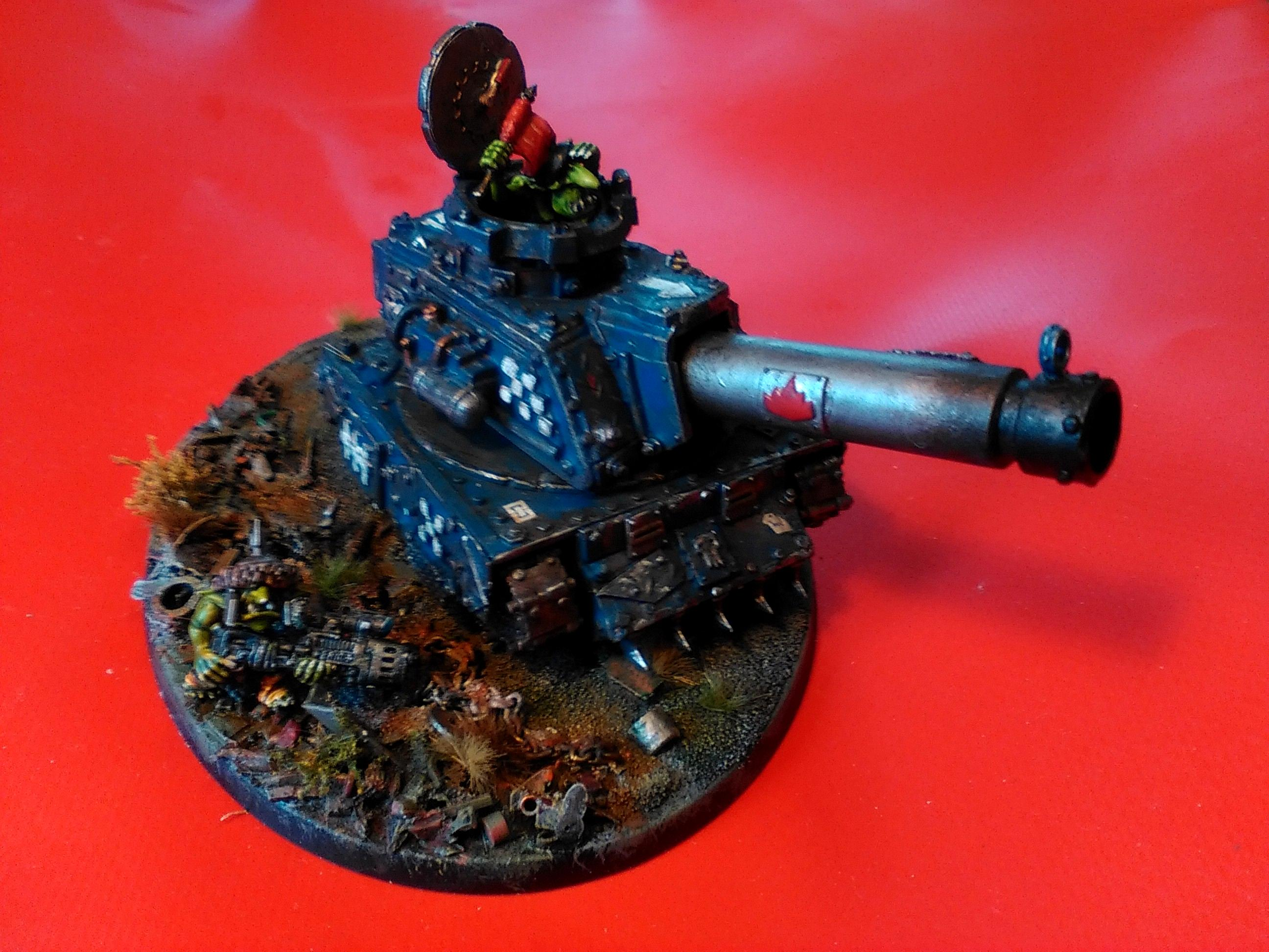 Grot Conversion, Grot Tank, Grots, Kitbash, Orks, Scratch Build, Warhammer 40,000