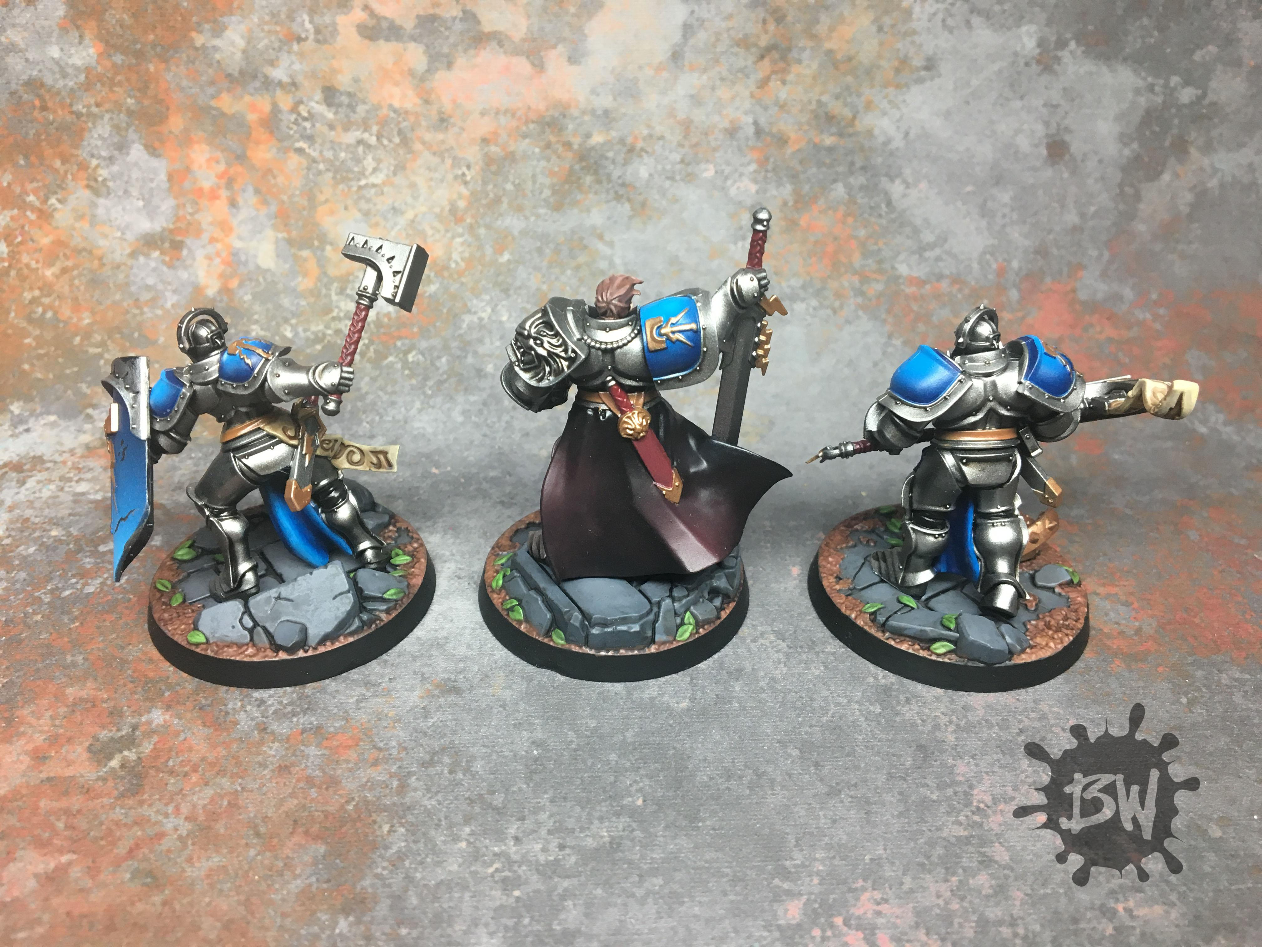 Bw, Commission, Order, Painting, Shadespire, Stormcast, Stormcast Eternals Warband