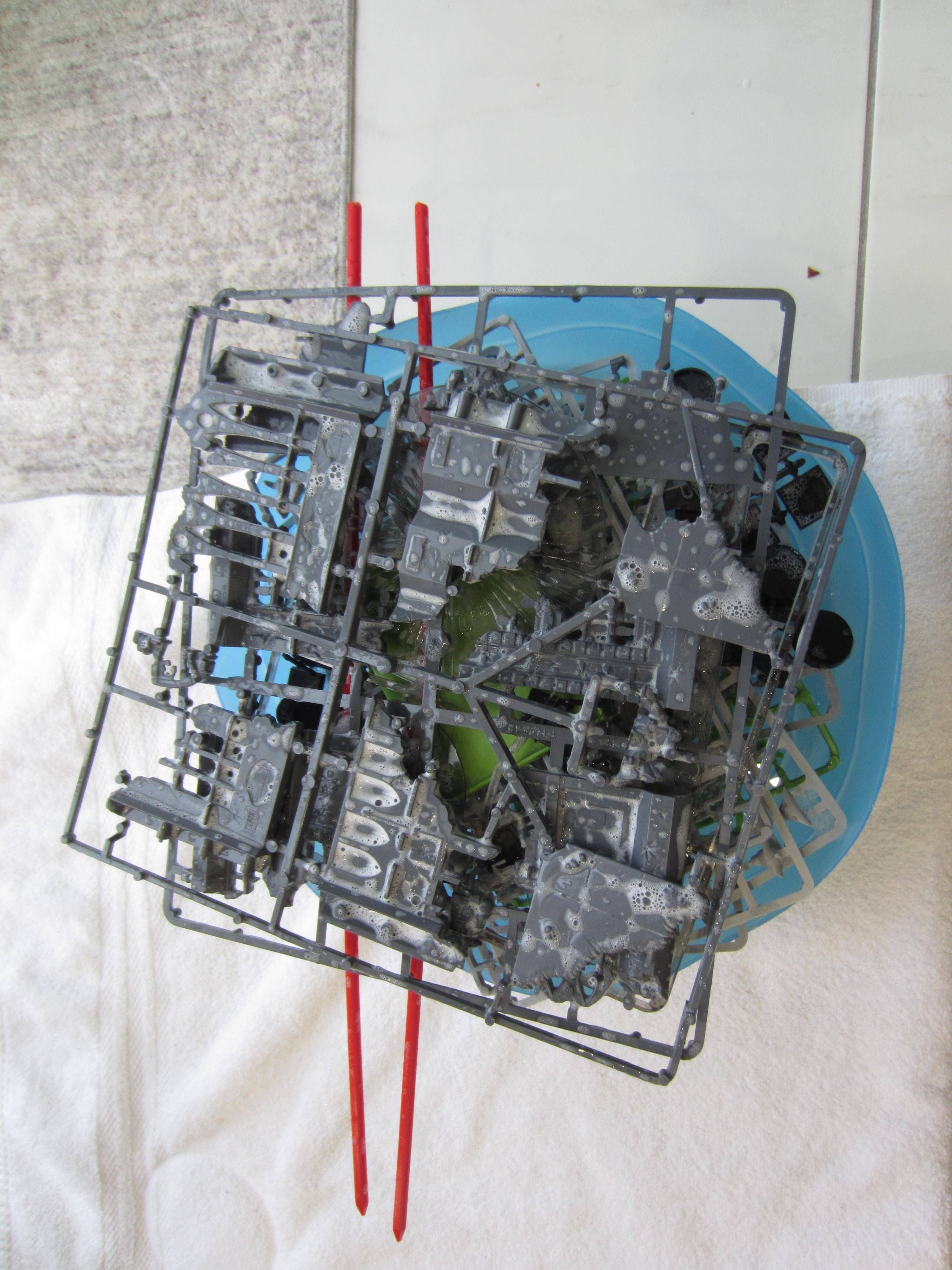 2nd Edition WH40k Starter Washed