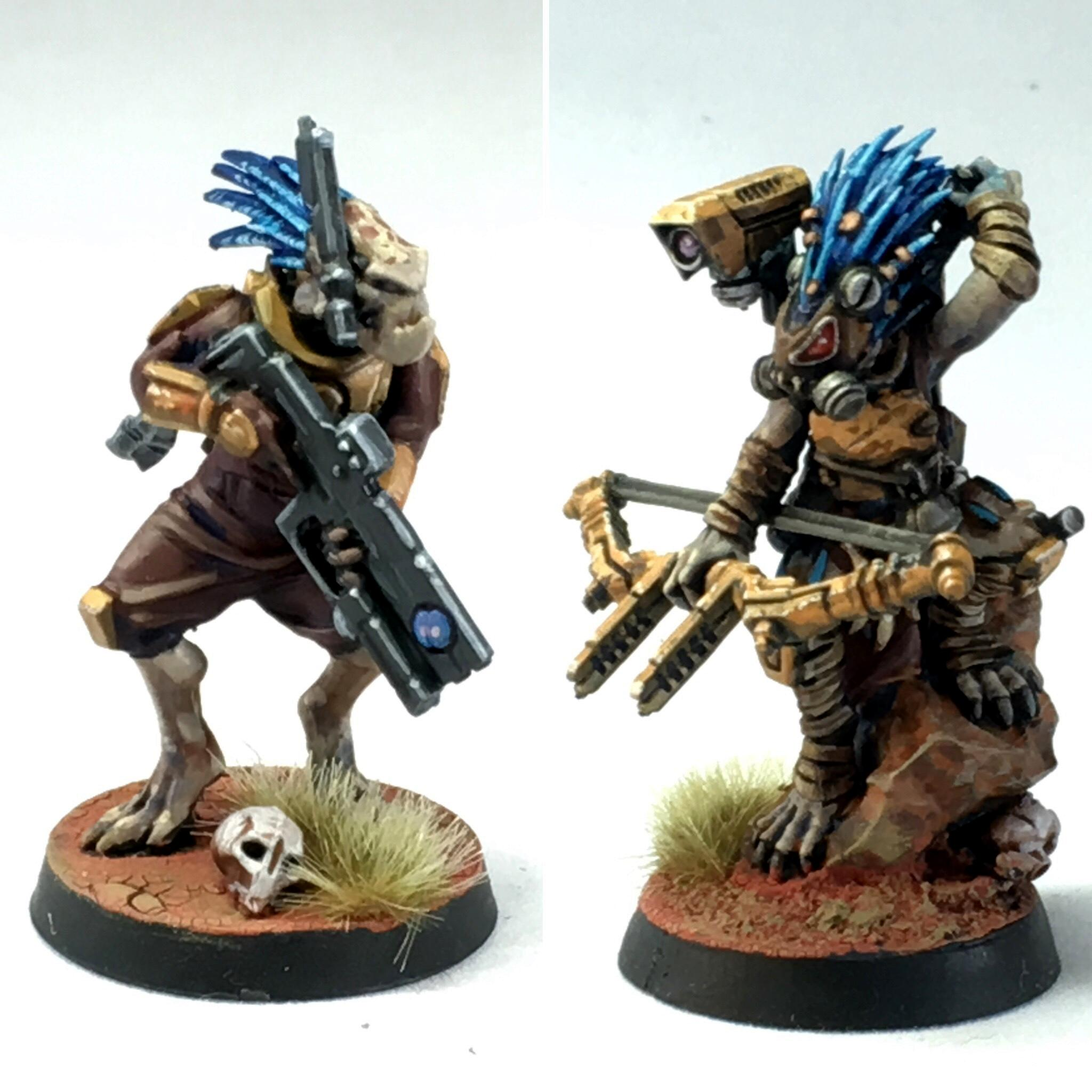 Admech, Conversion, Counts As, Kitbash, Kroot, Kroot Mercenaries, Warhammer 40,000