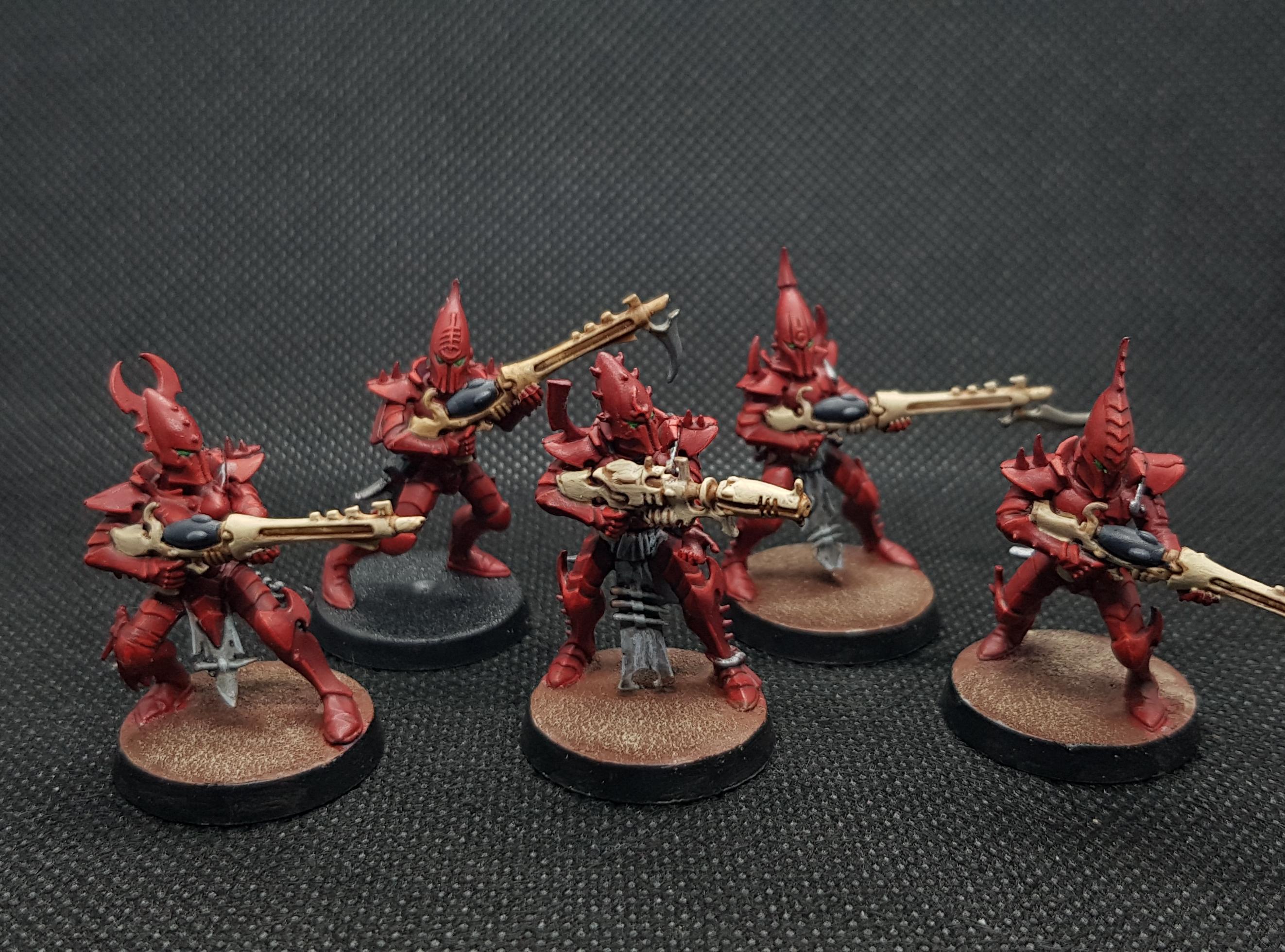 Aeldari, Dark Eldar, Drukhari, Eldar, Kabal, Warriors, Wych Cult