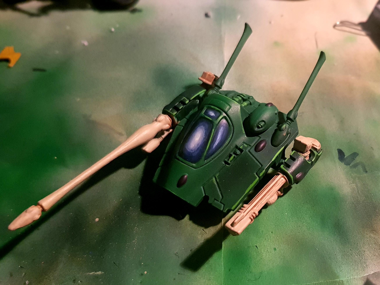 Falcon turret progress