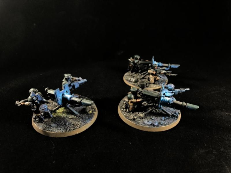 Astra Militarum, Imperial Guard, Lascannon, Object Source Lighting