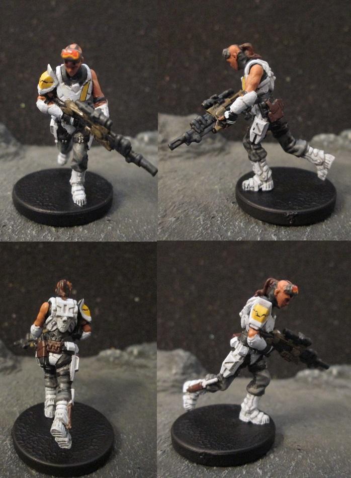 Deadzone, Enforcer, Female, Mantic, Pathfinders