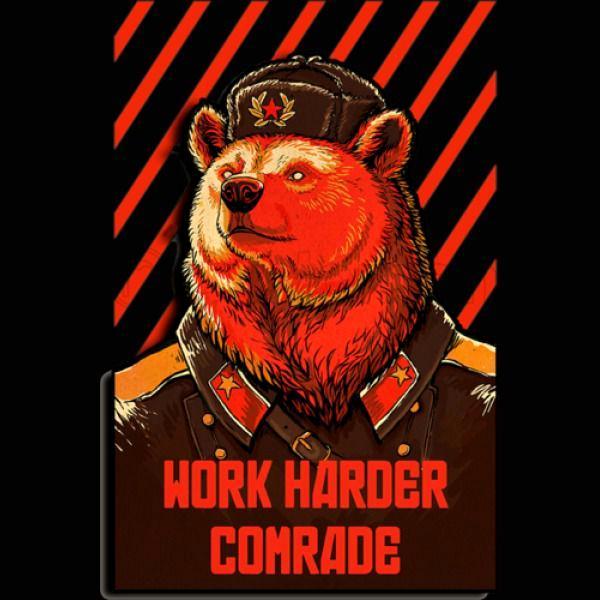 Bear, Propaganda, Soviet