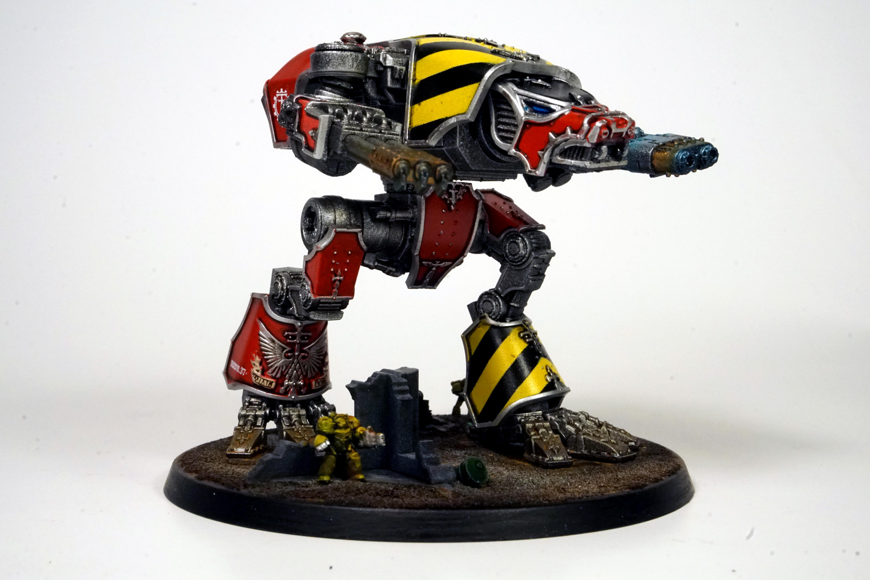 Adeptus Titanicus, Legio Ignatum, Titan, Warhound