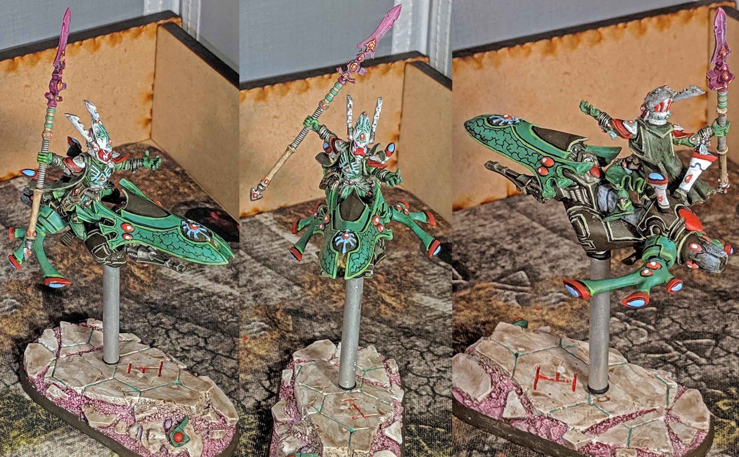 Biel Tan, Eldar, Jetbike, Warhammer 40,000