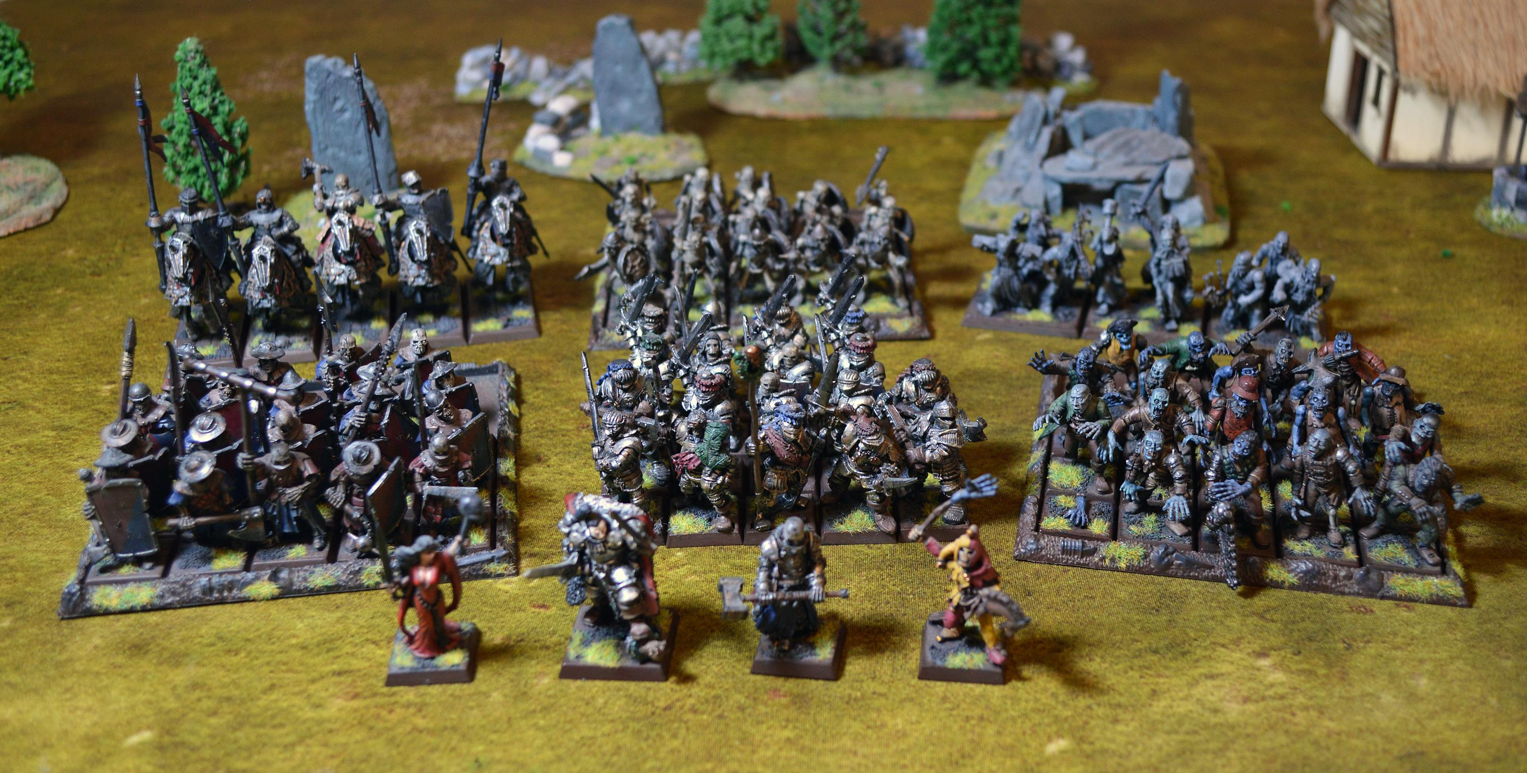 Vampire Counts Blood Knight army