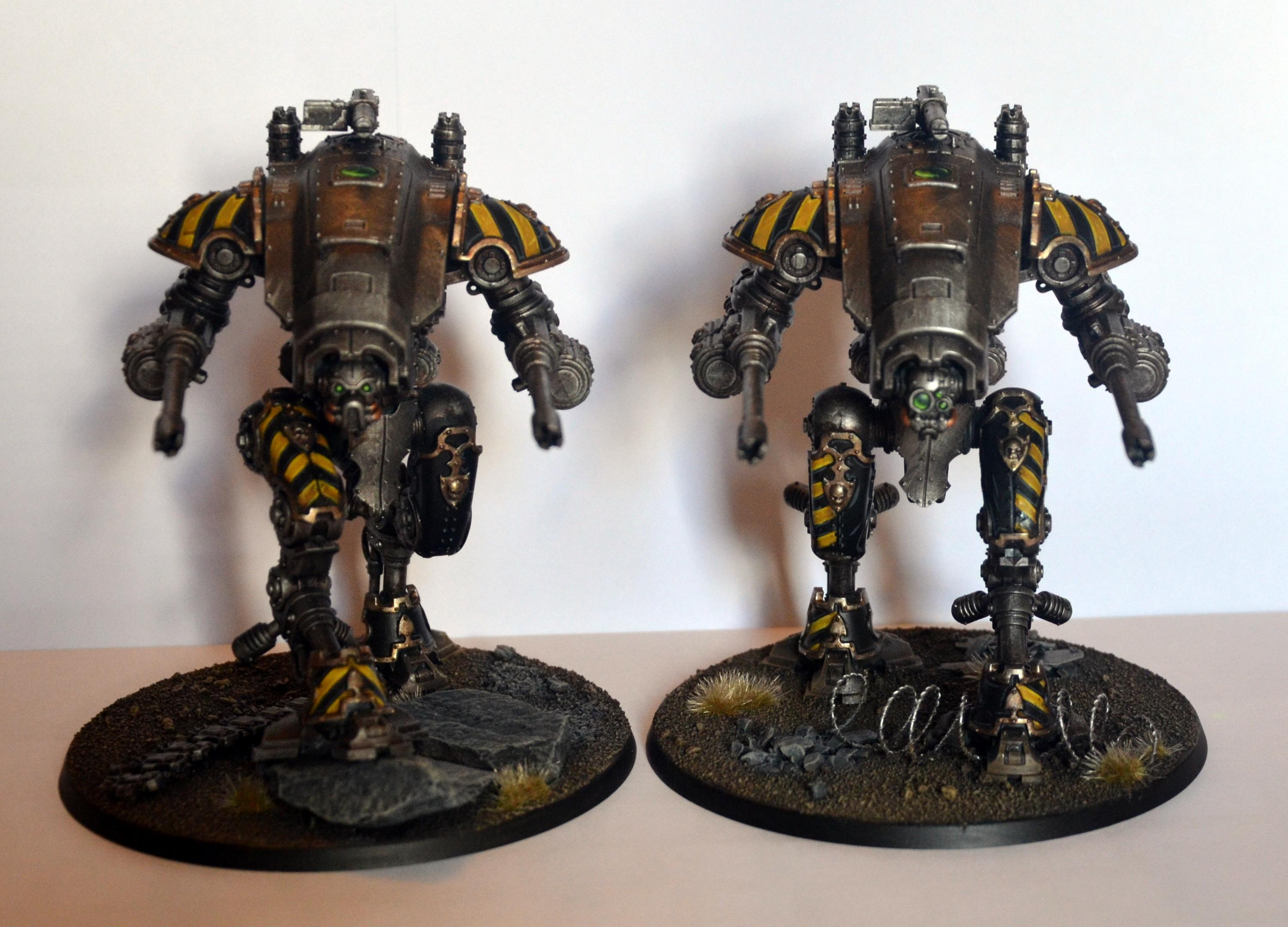 Helverins, Imperial Knights, Iron Warriors
